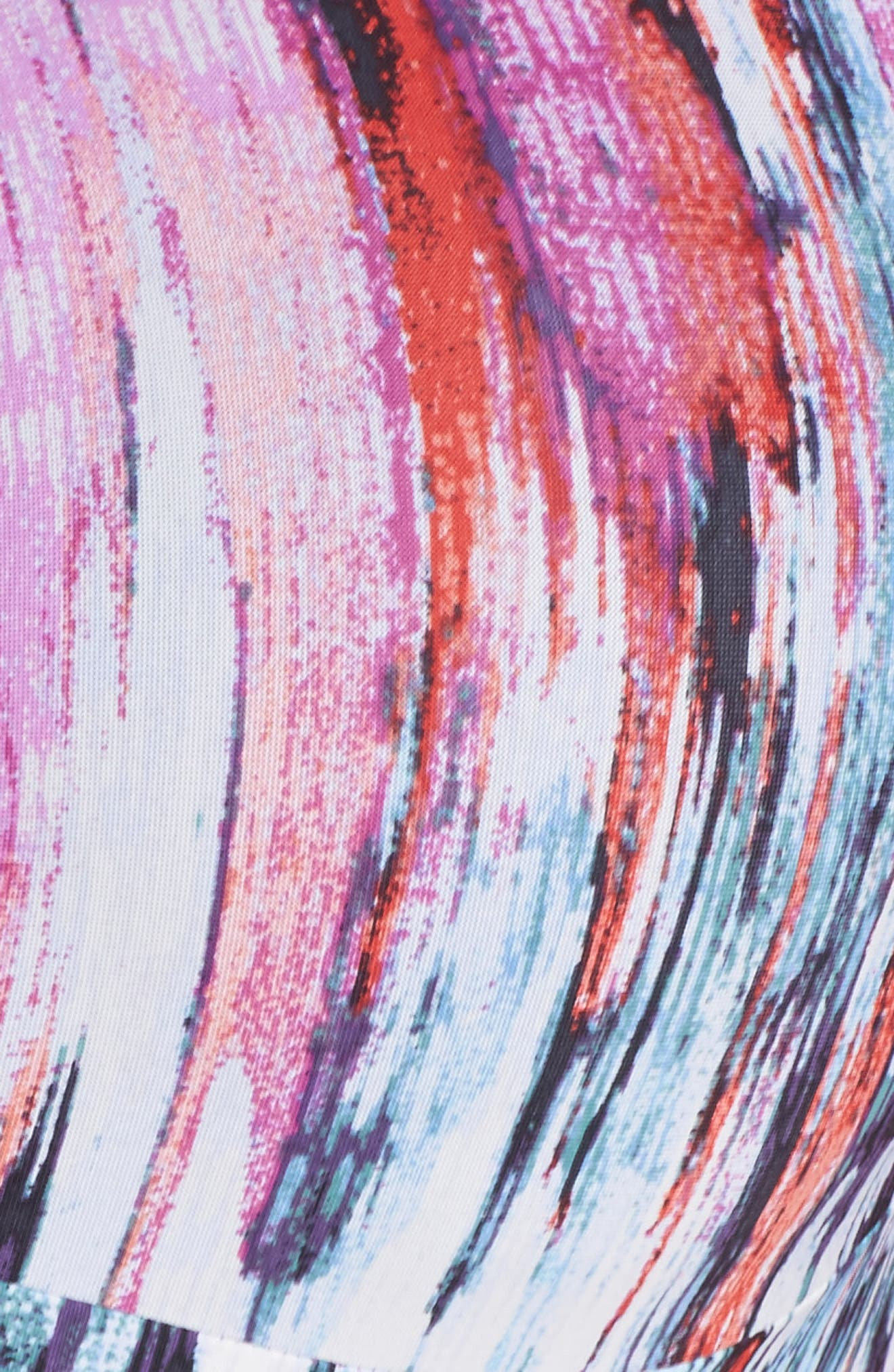 Hi-Impact Underwire Sports Bra,                             Alternate thumbnail 6, color,                             Electric Wave