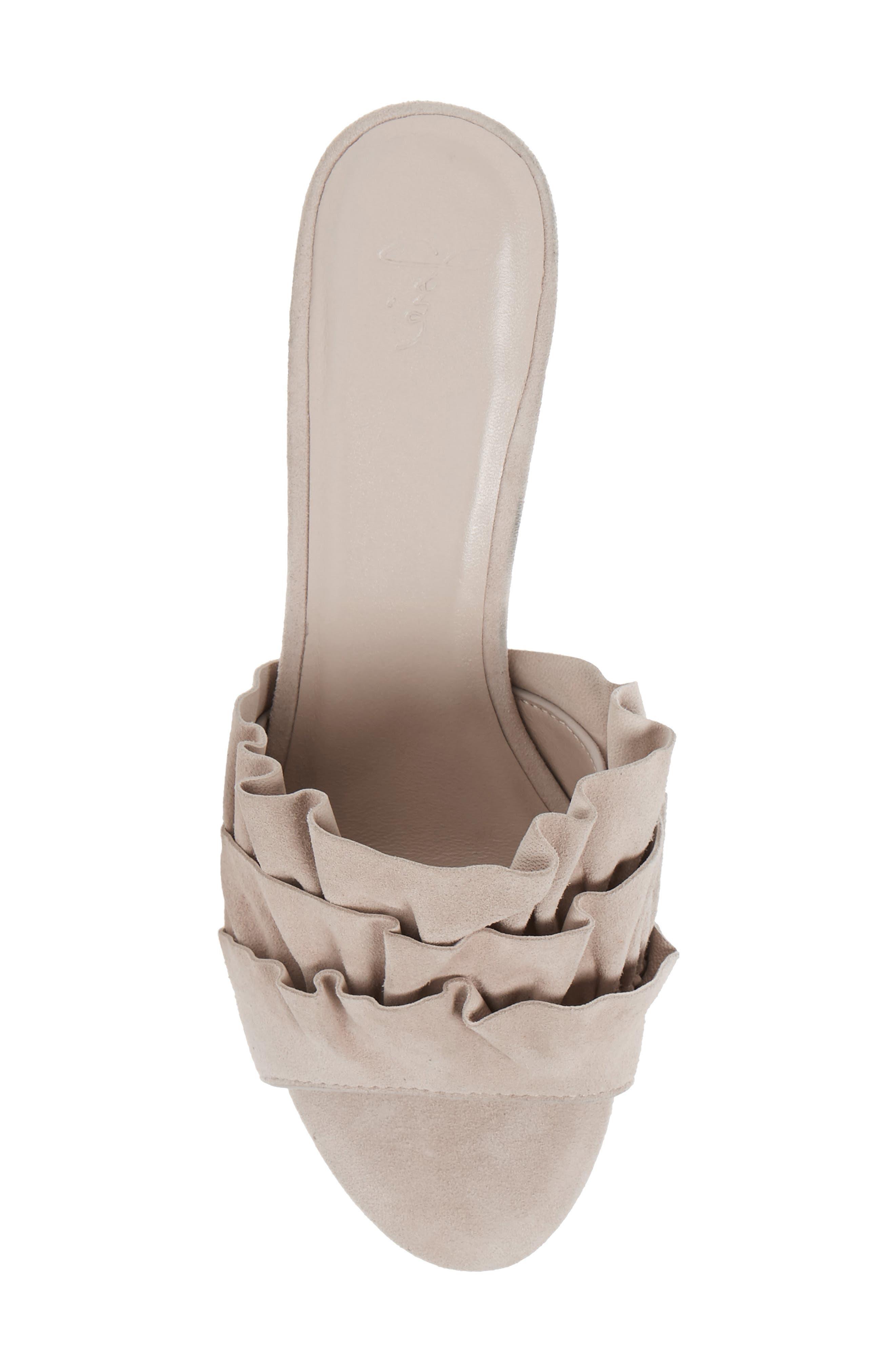 Alternate Image 5  - Joie Mai Ruffle Slide Sandal (Women)