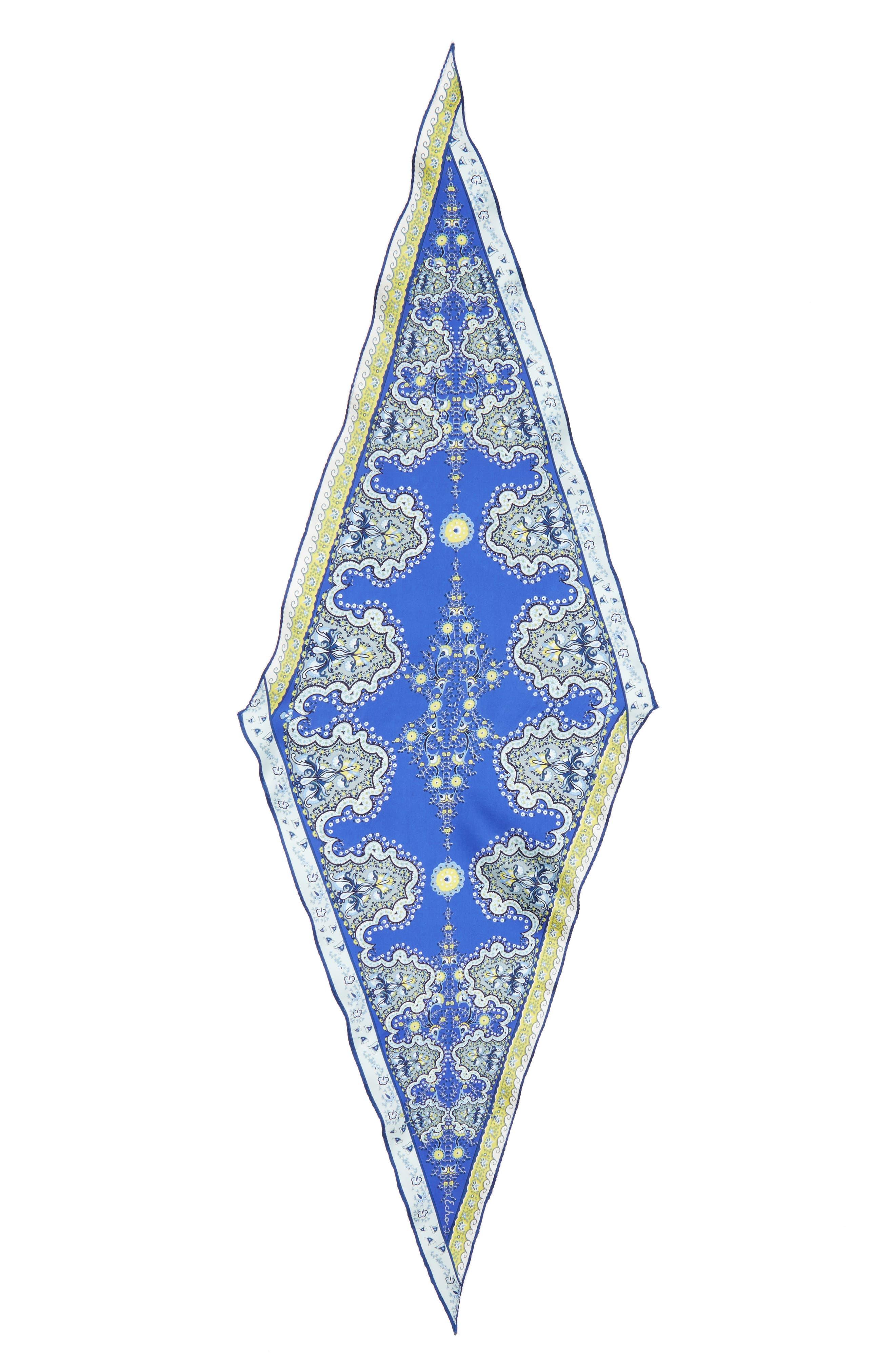 Alternate Image 3  - Echo Paisley Lace Diamond Silk Scarf