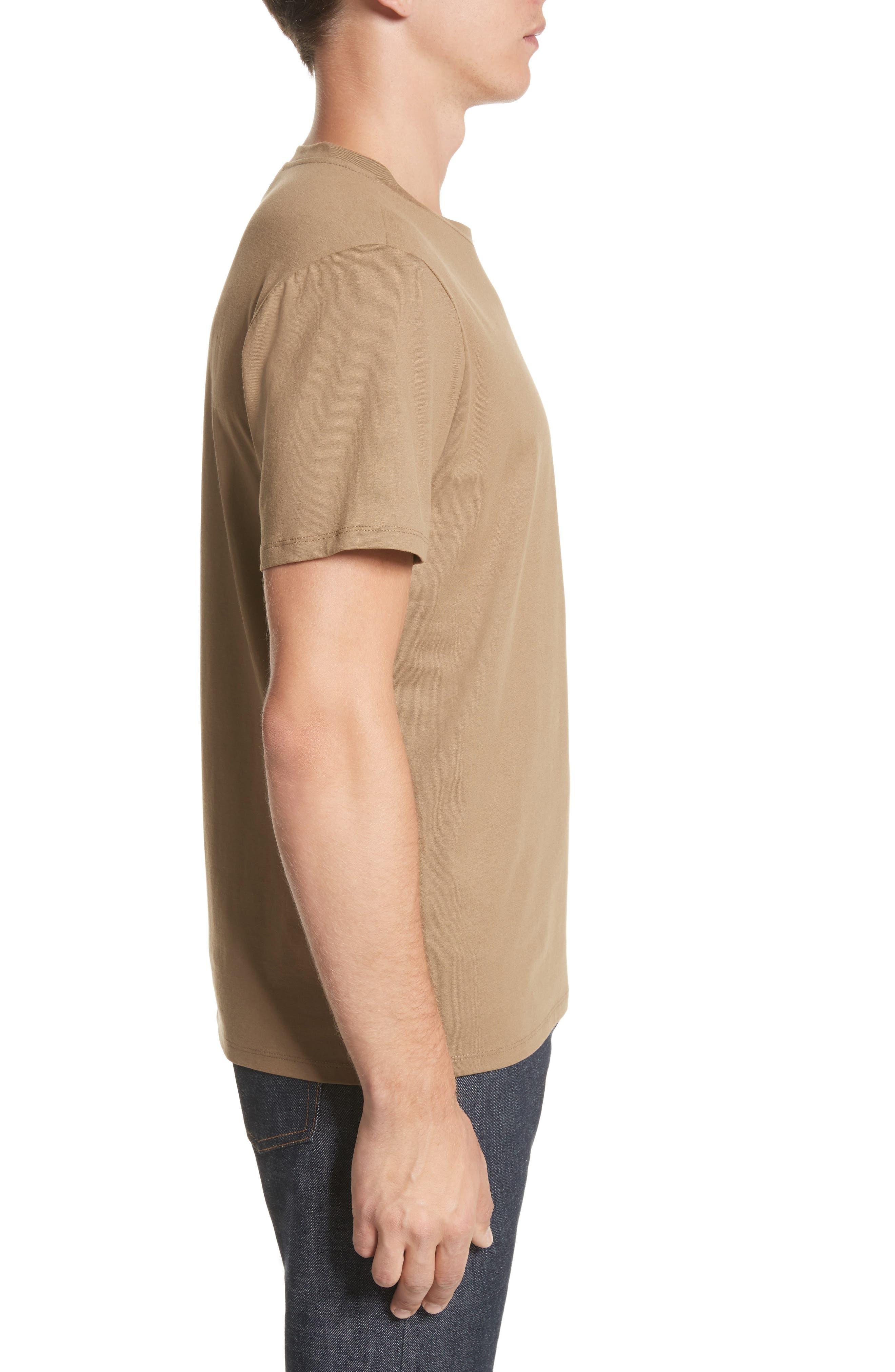 Jimmy T-Shirt,                             Alternate thumbnail 3, color,                             Taupe