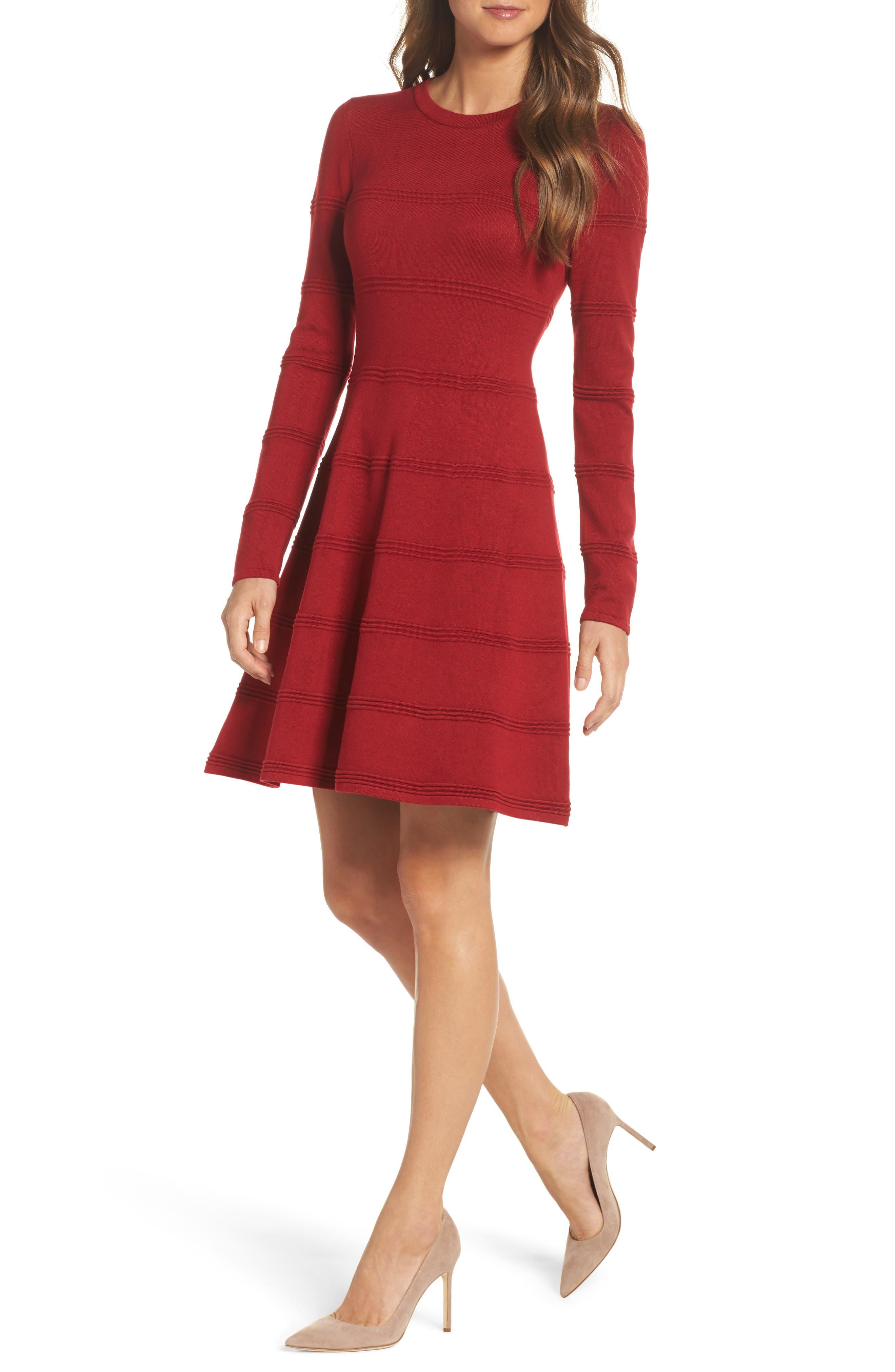 C luce red dress james