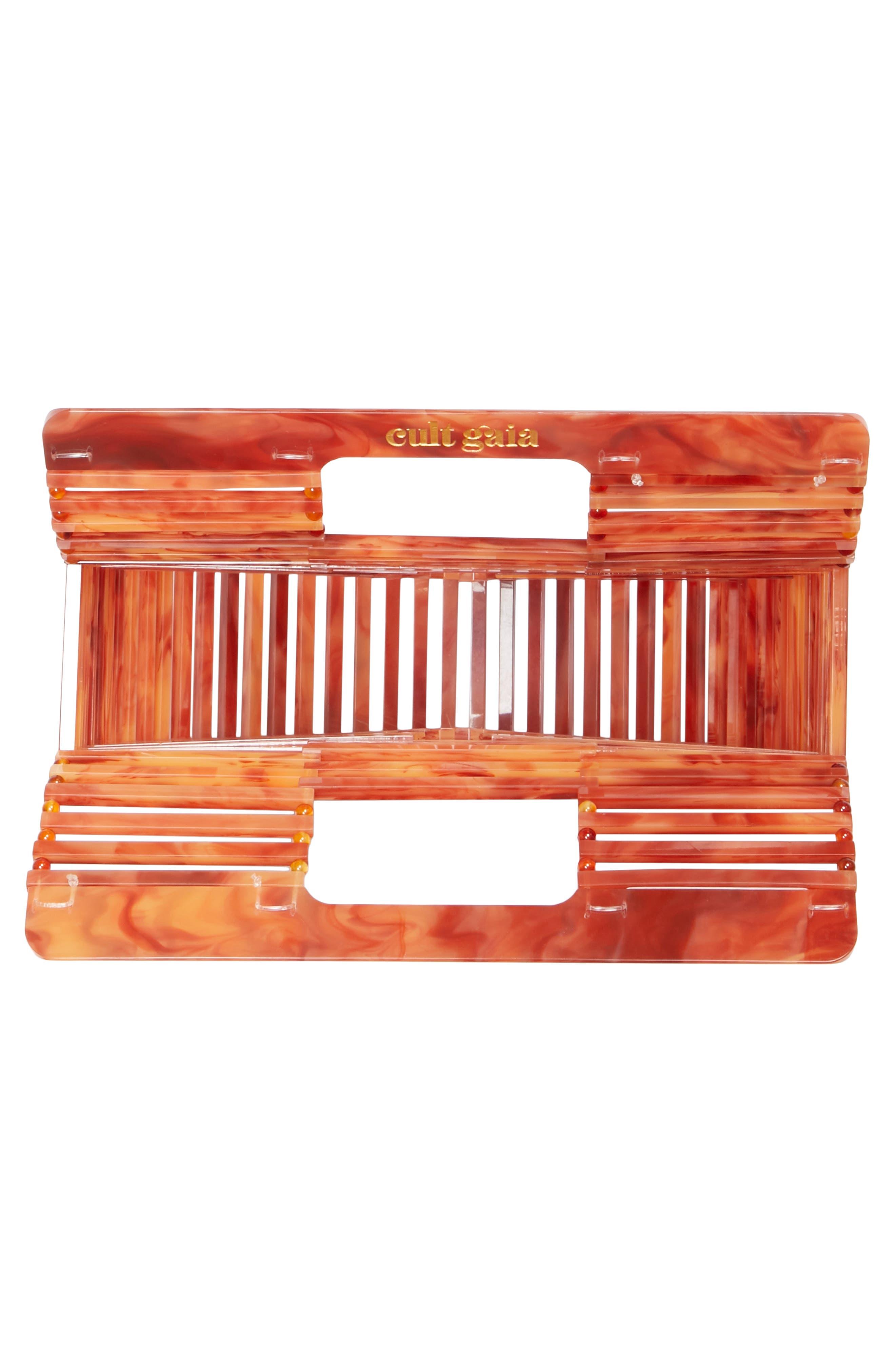 Mini Ark Handbag,                             Alternate thumbnail 4, color,                             Agate