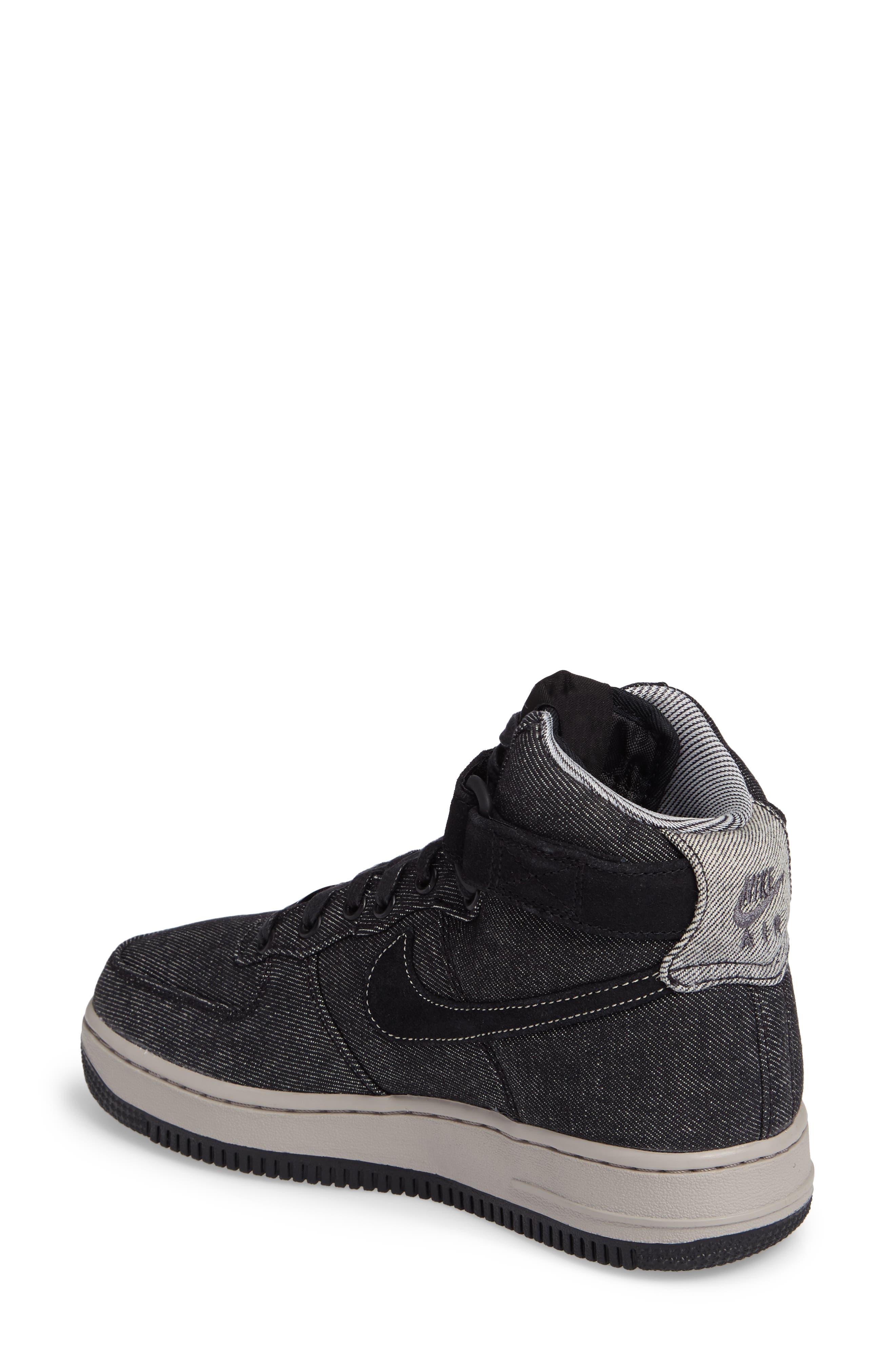 Alternate Image 2  - Nike Air Force 1 High Top SE Sneaker (Women)