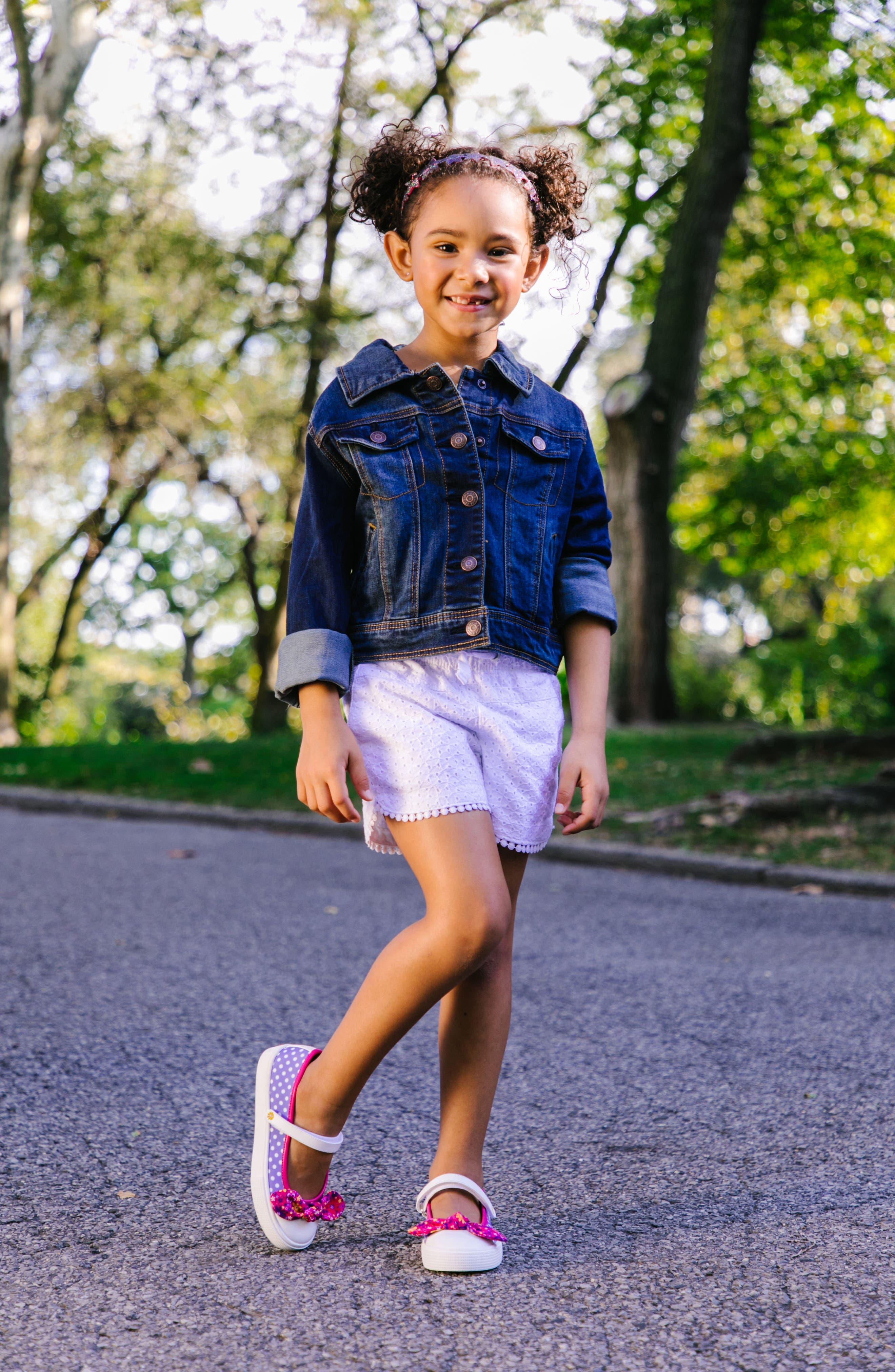 Kendall Mary Jane Sneaker,                             Alternate thumbnail 7, color,                             Purple