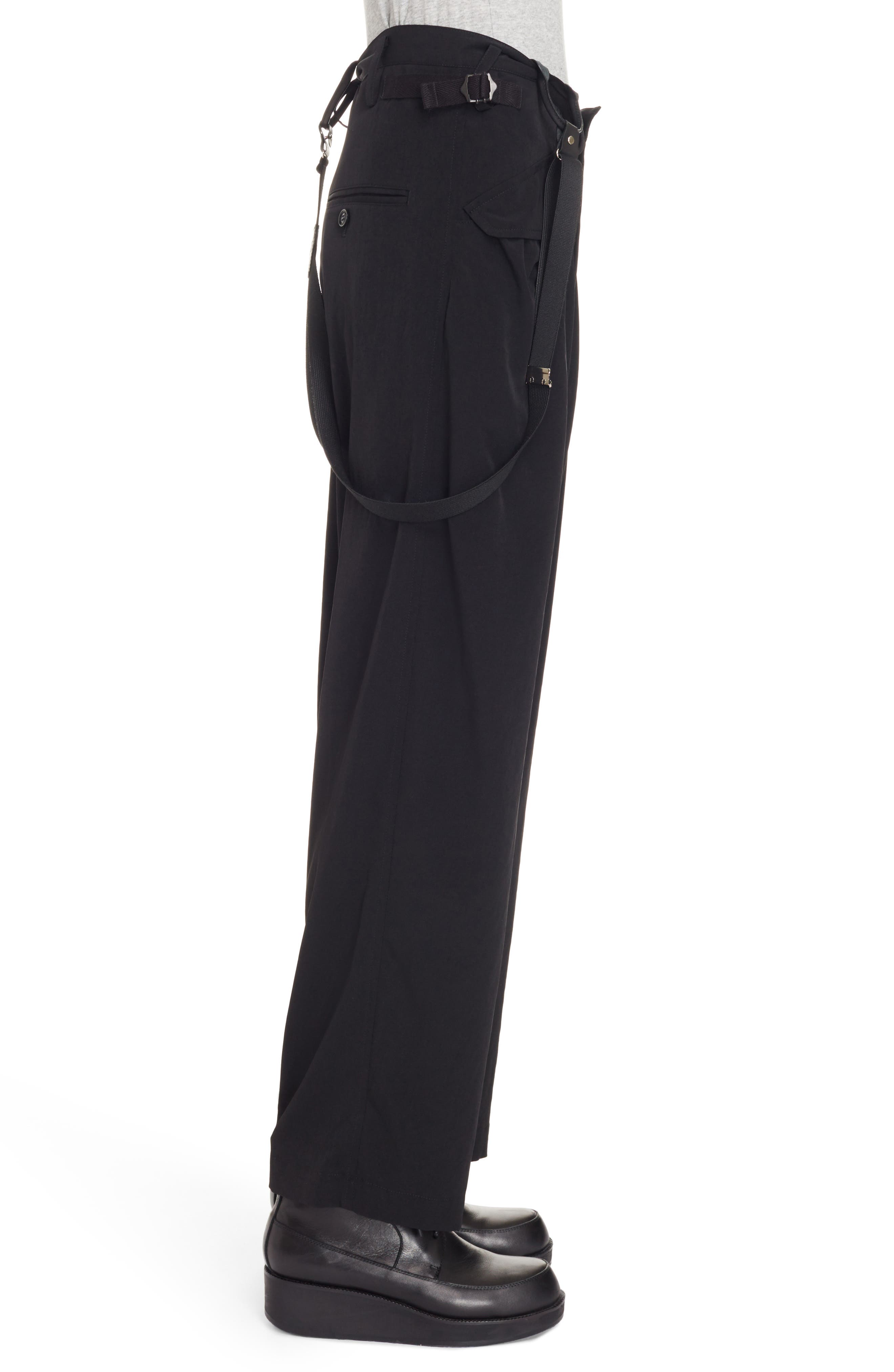 Alternate Image 4  - Y's by Yohji Yamamoto Pants with Suspenders
