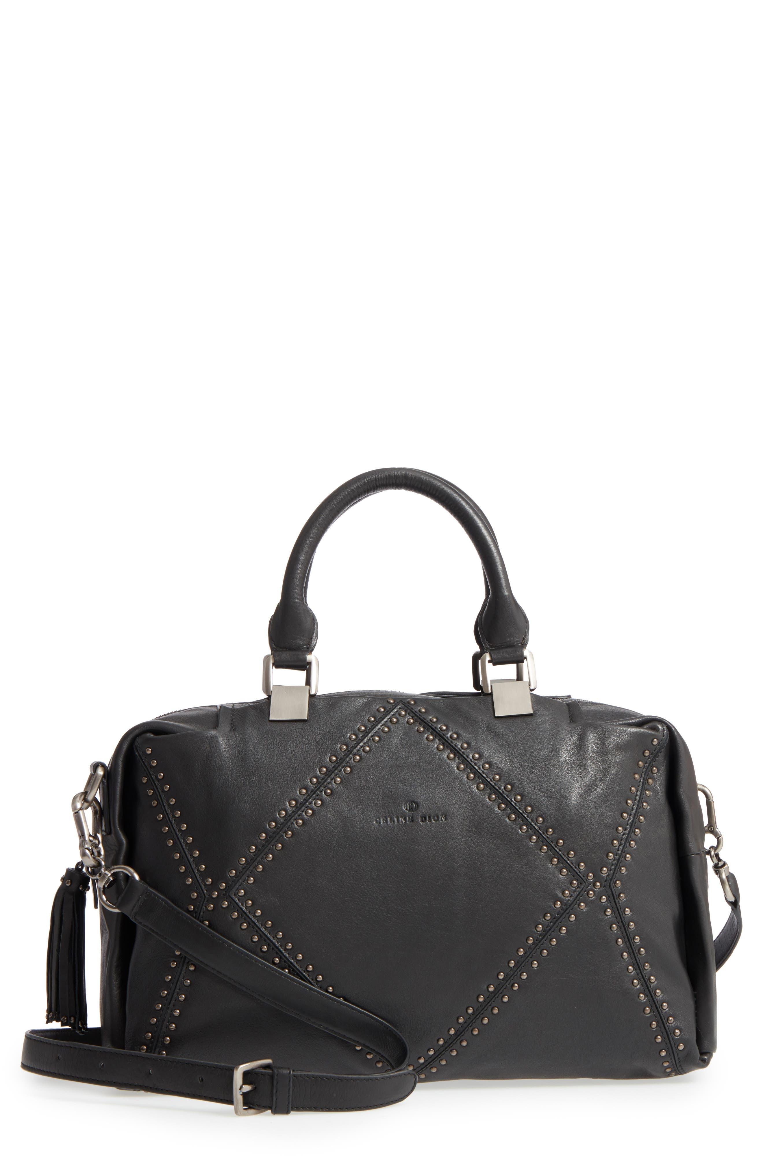 Céline Dion Nocturne Leather Satchel