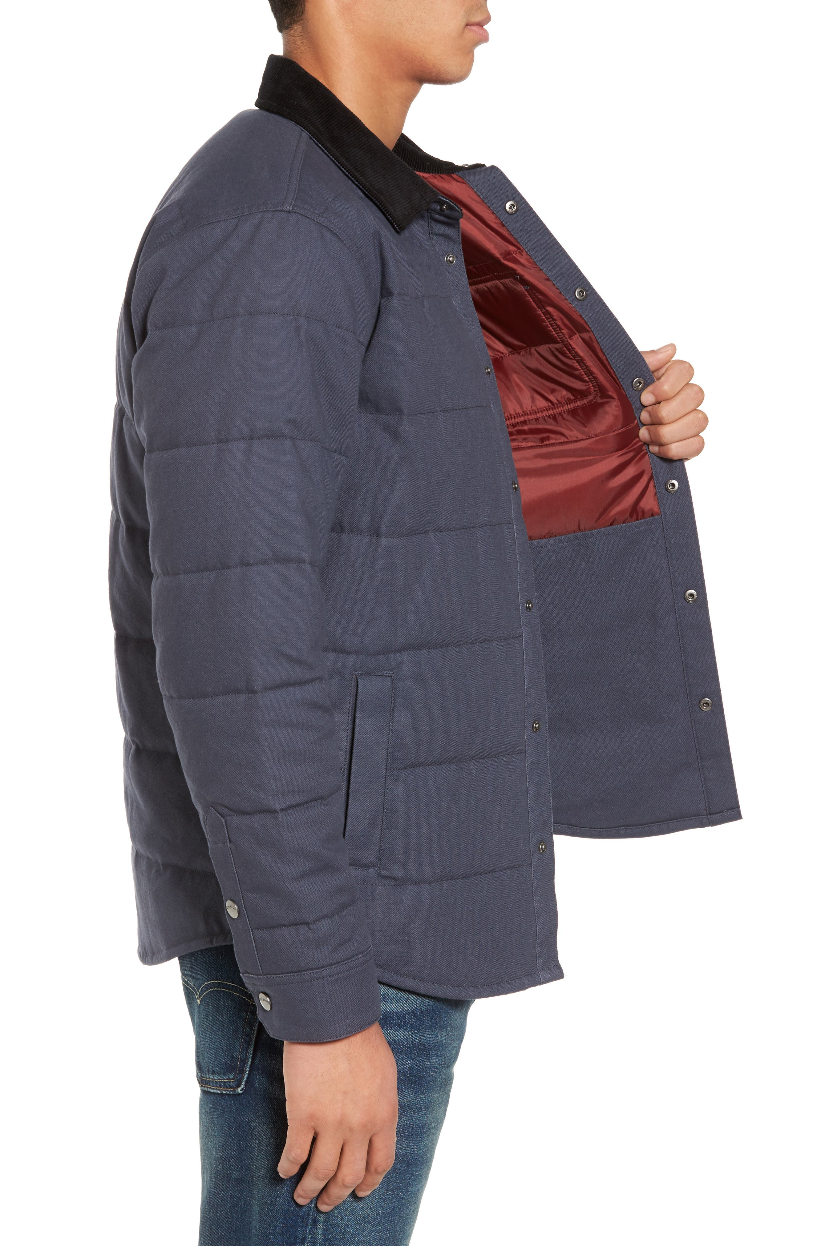 Alternate Image 3  - Brixton 'Cass' Quilted Jacket