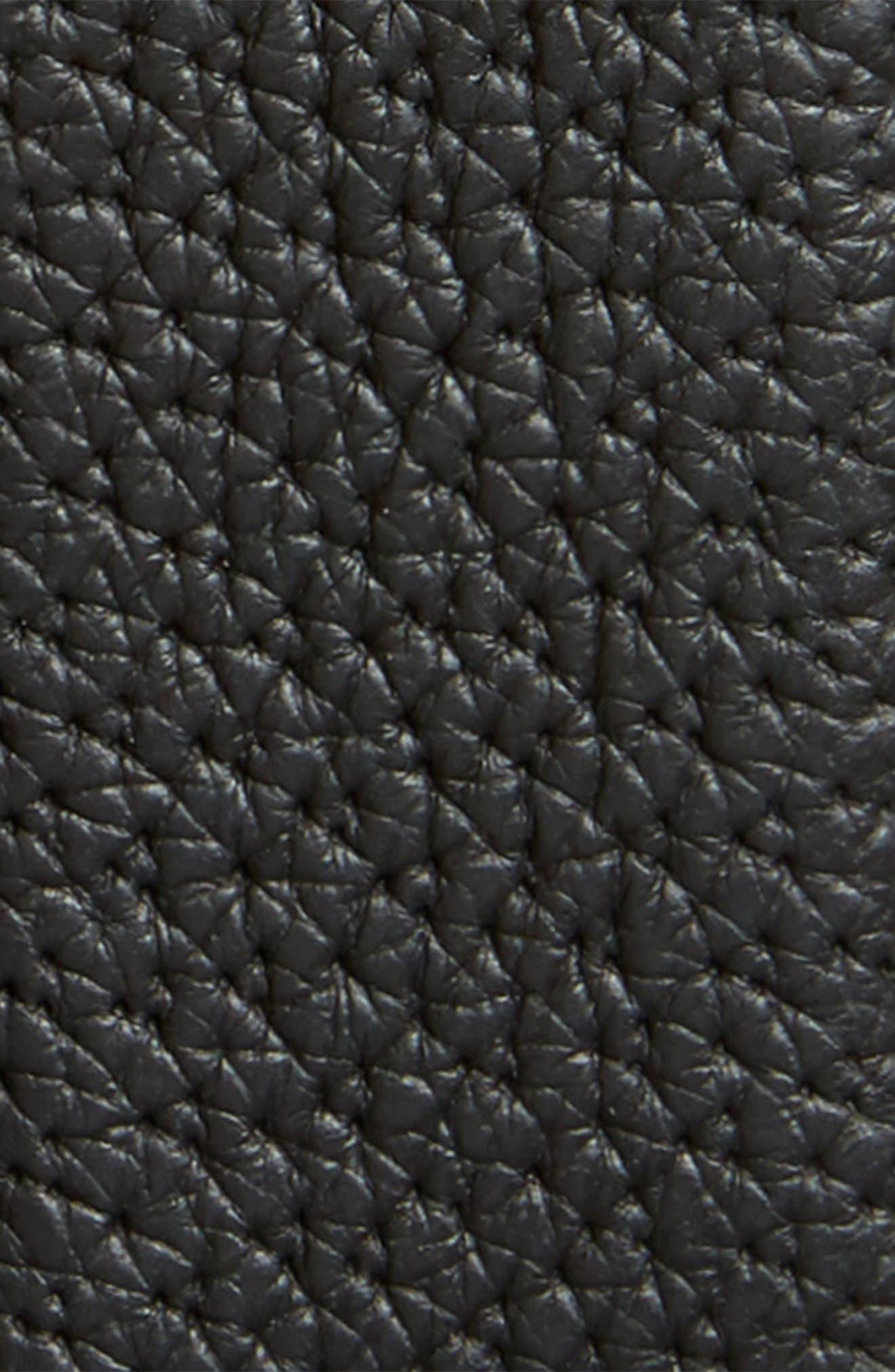 Alternate Image 2  - Versace First Line Medusa Head Leather Belt