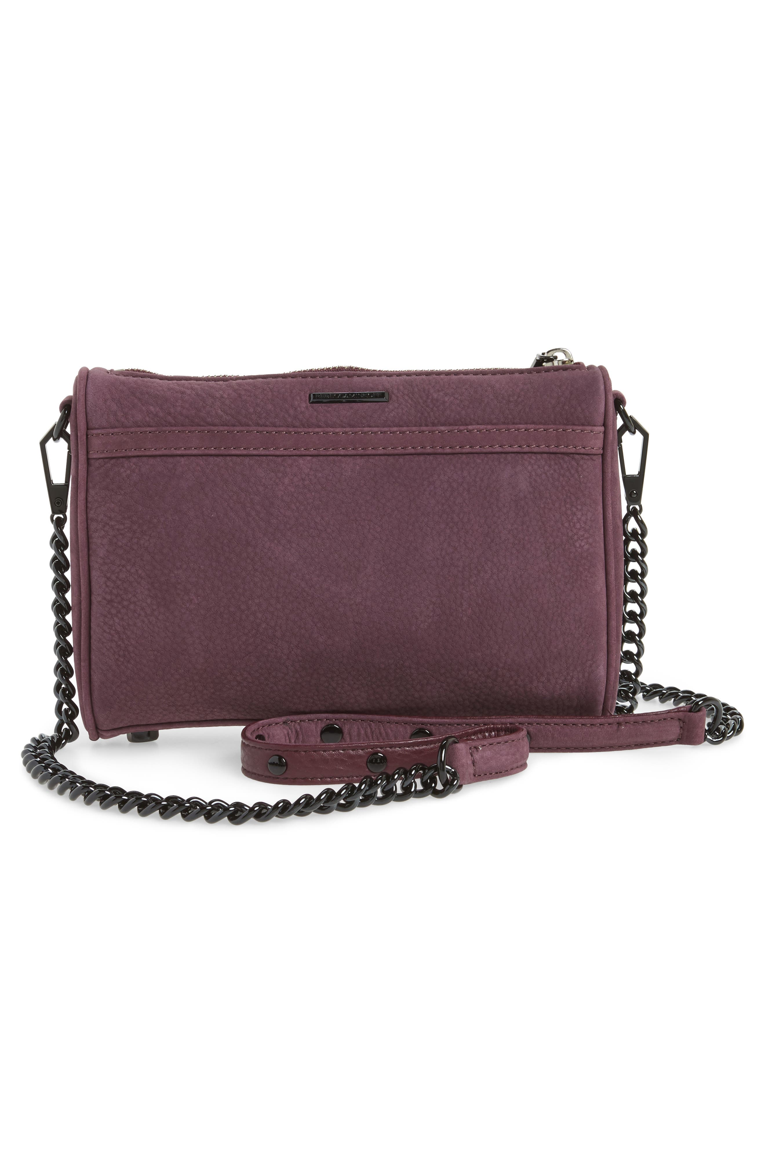 Alternate Image 2  - Rebecca Minkoff Mini MAC Nubuck Convertible Crossbody Bag