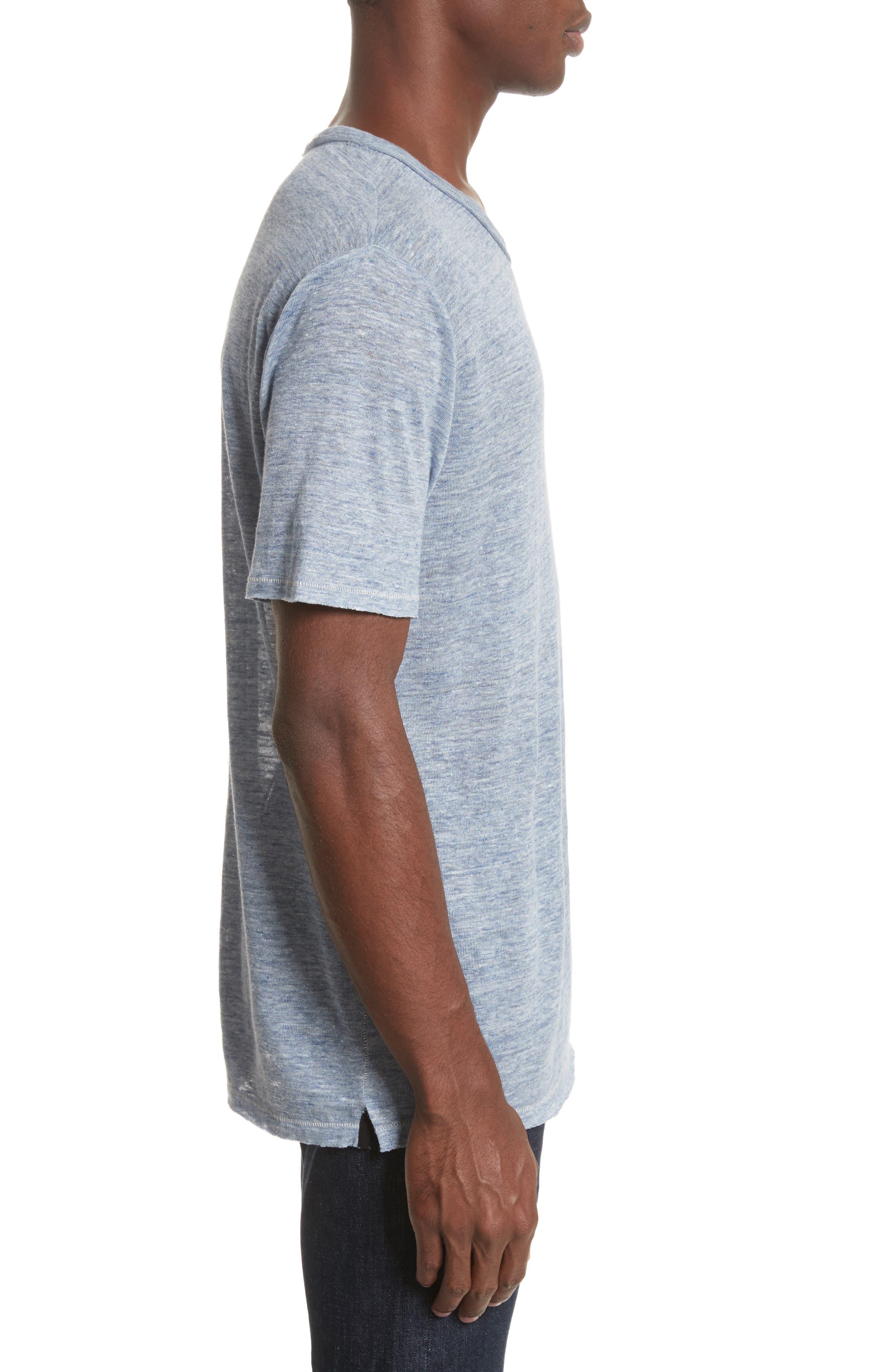 Owen T-Shirt,                             Alternate thumbnail 3, color,                             Blue