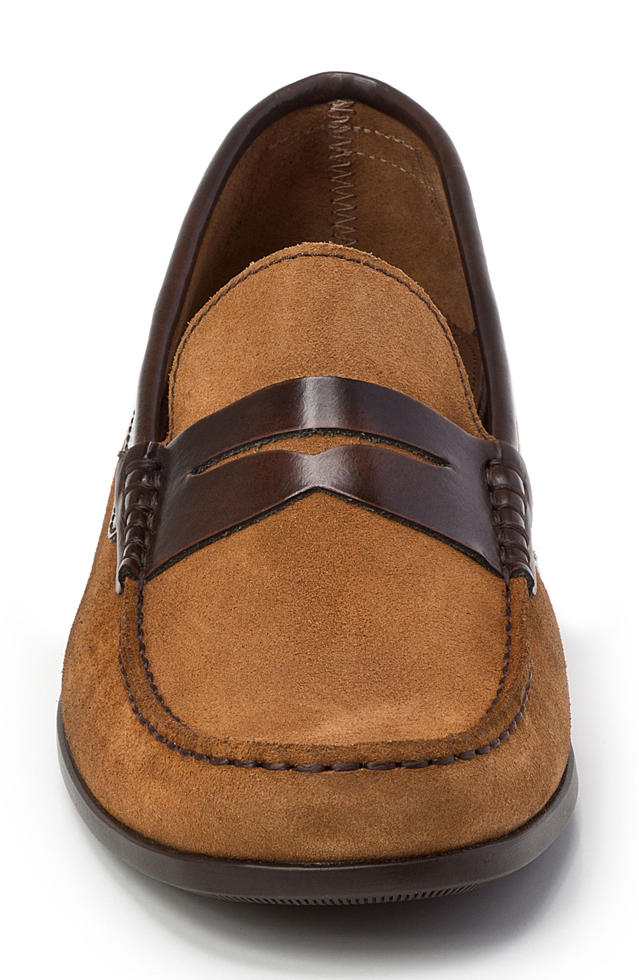 Alternate Image 4  - Sandro Moscoloni Lucho Penny Loafer (Men)