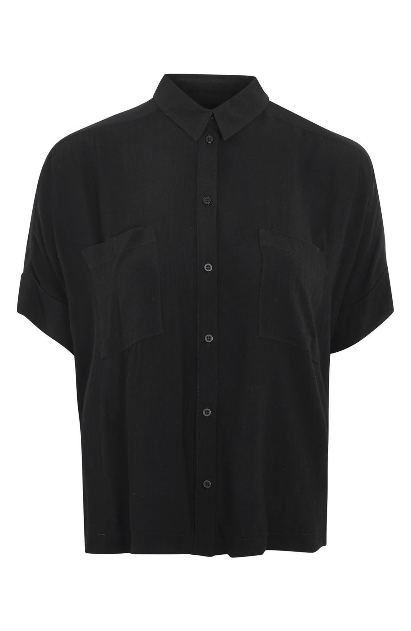 Joey Shirt,                             Alternate thumbnail 4, color,                             Black