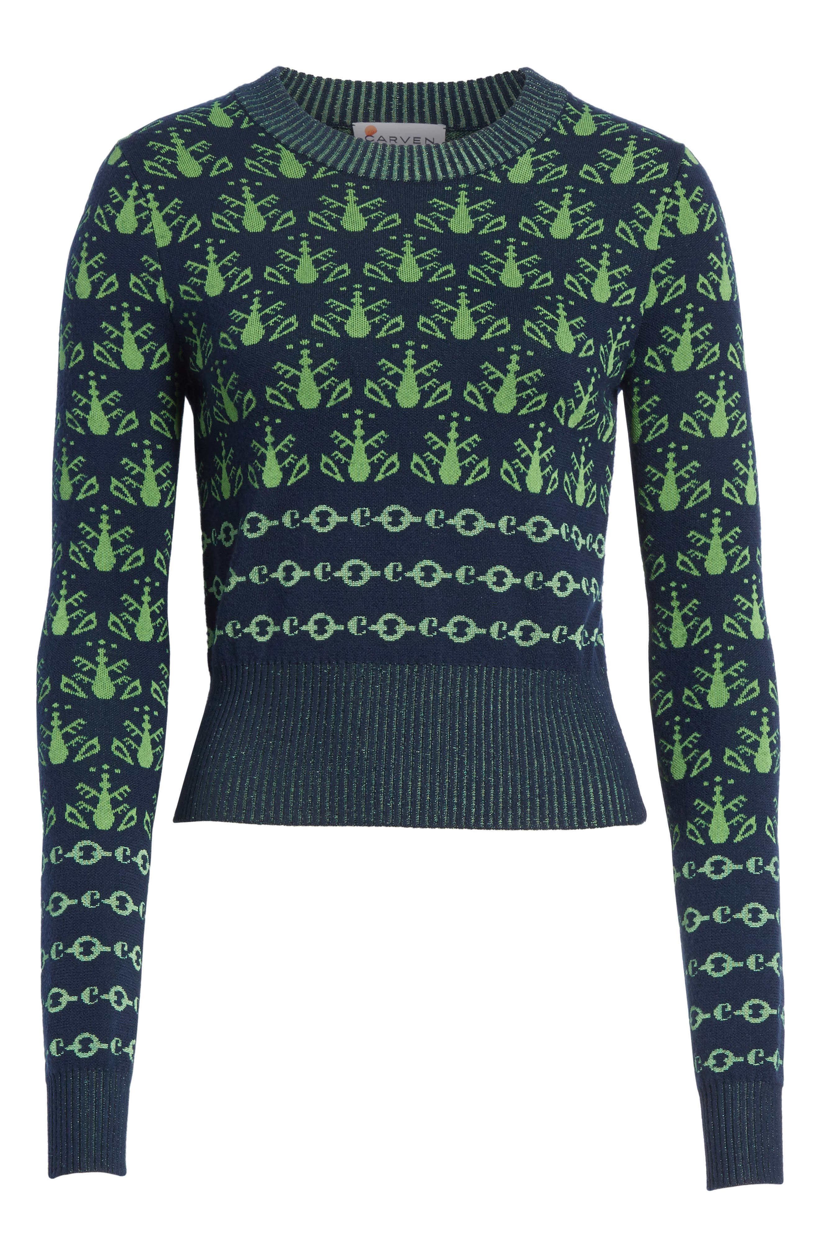 Alternate Image 7  - Carven Merino Wool Sweater