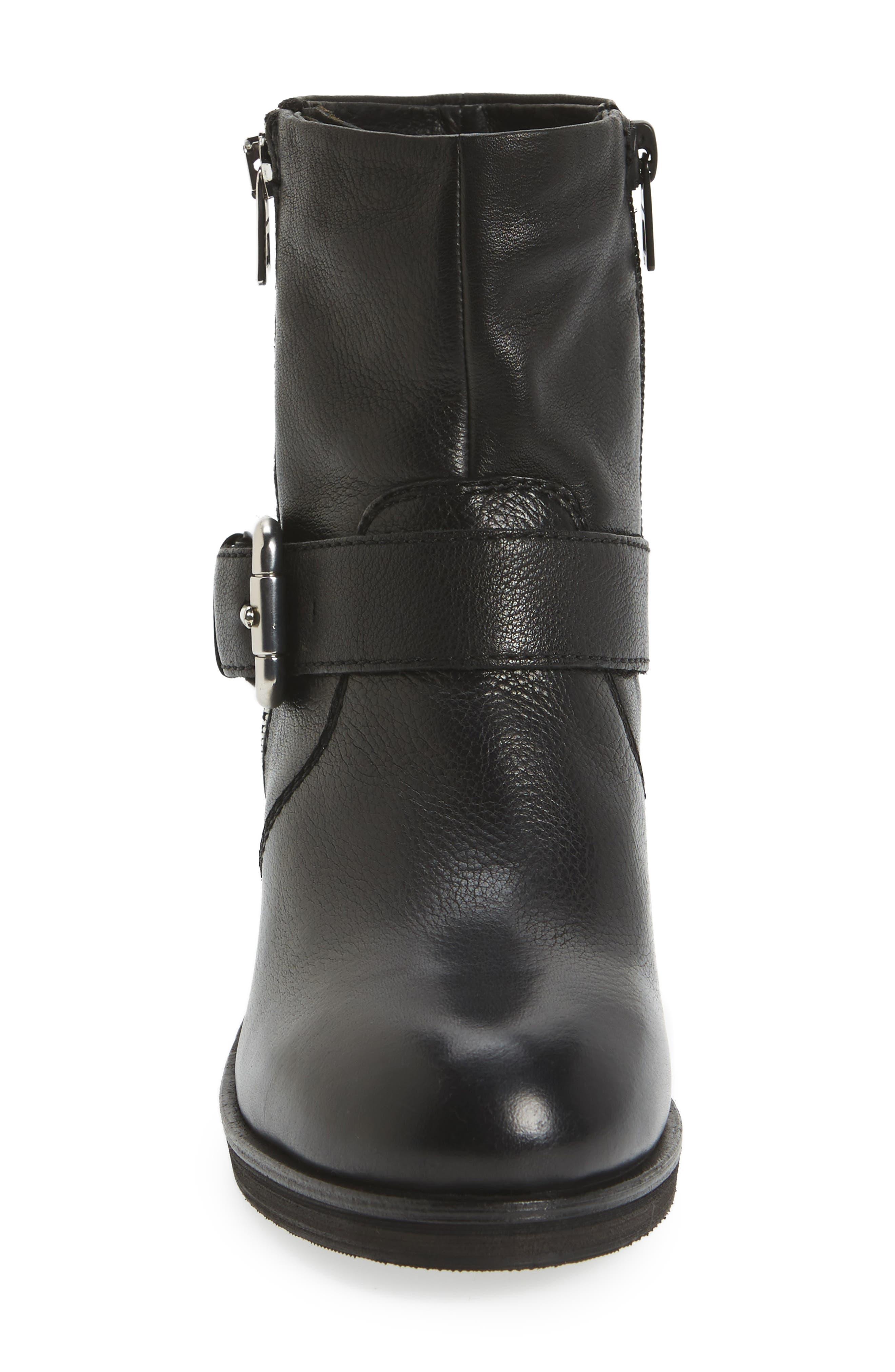 Balady Boot,                             Alternate thumbnail 5, color,                             Black/ Black Leather