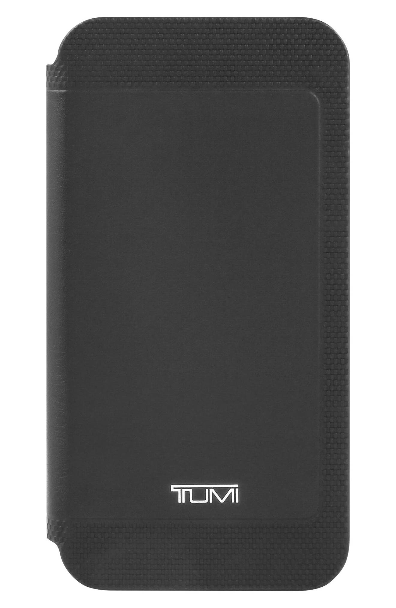 Tumi Kickstand Folio Leather iPhone X Case
