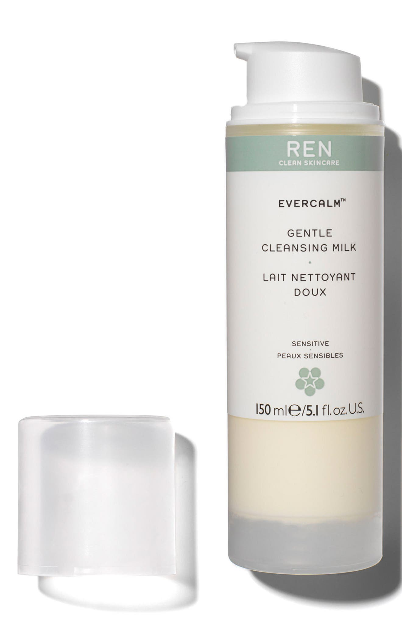 'Evercalm<sup>™</sup>' Gentle Cleansing Milk,                             Alternate thumbnail 3, color,                             No Color