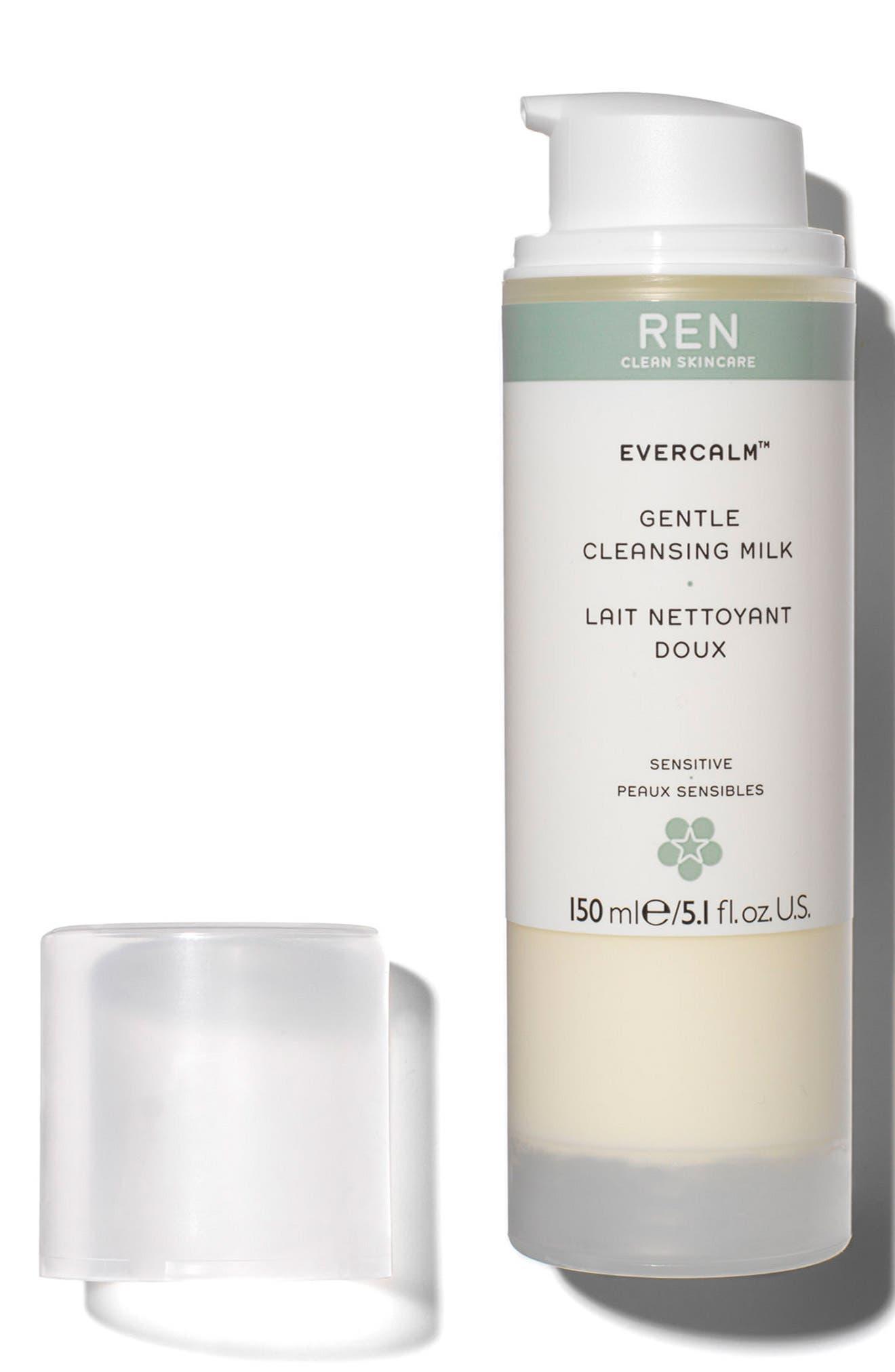 Alternate Image 3  - REN 'Evercalm™' Gentle Cleansing Milk