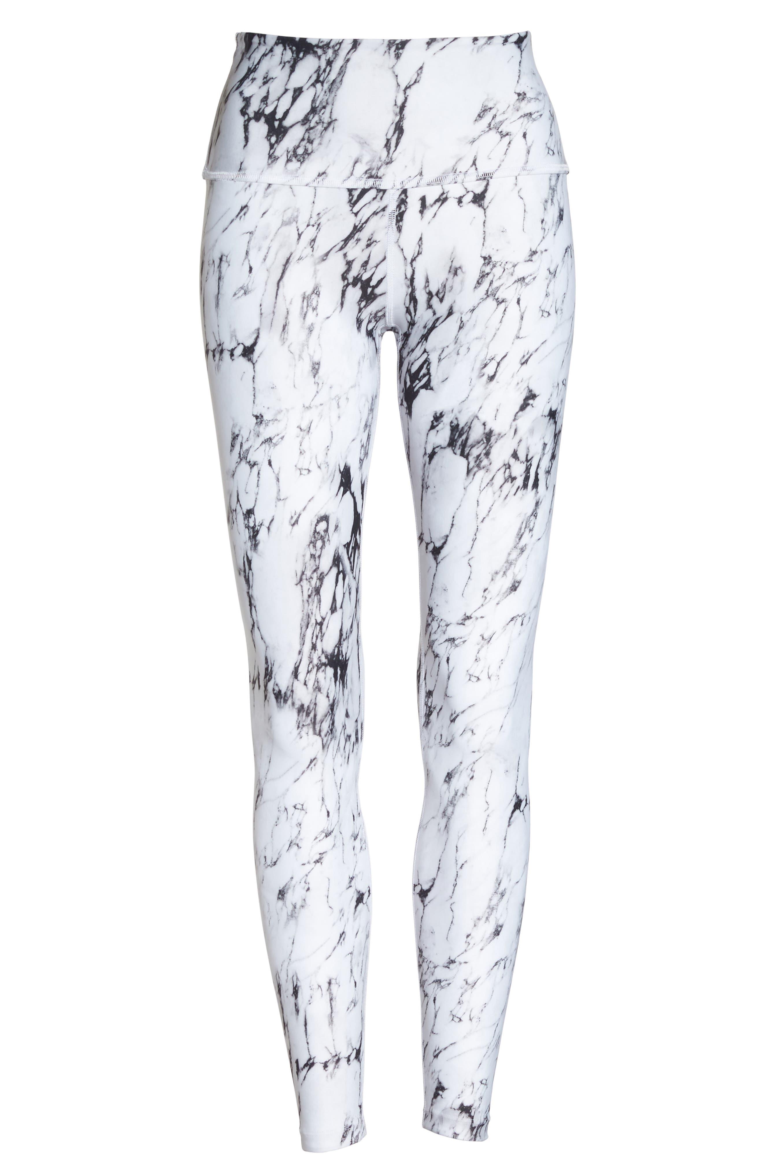 Alternate Image 6  - Beyond Yoga High Waist Print Leggings
