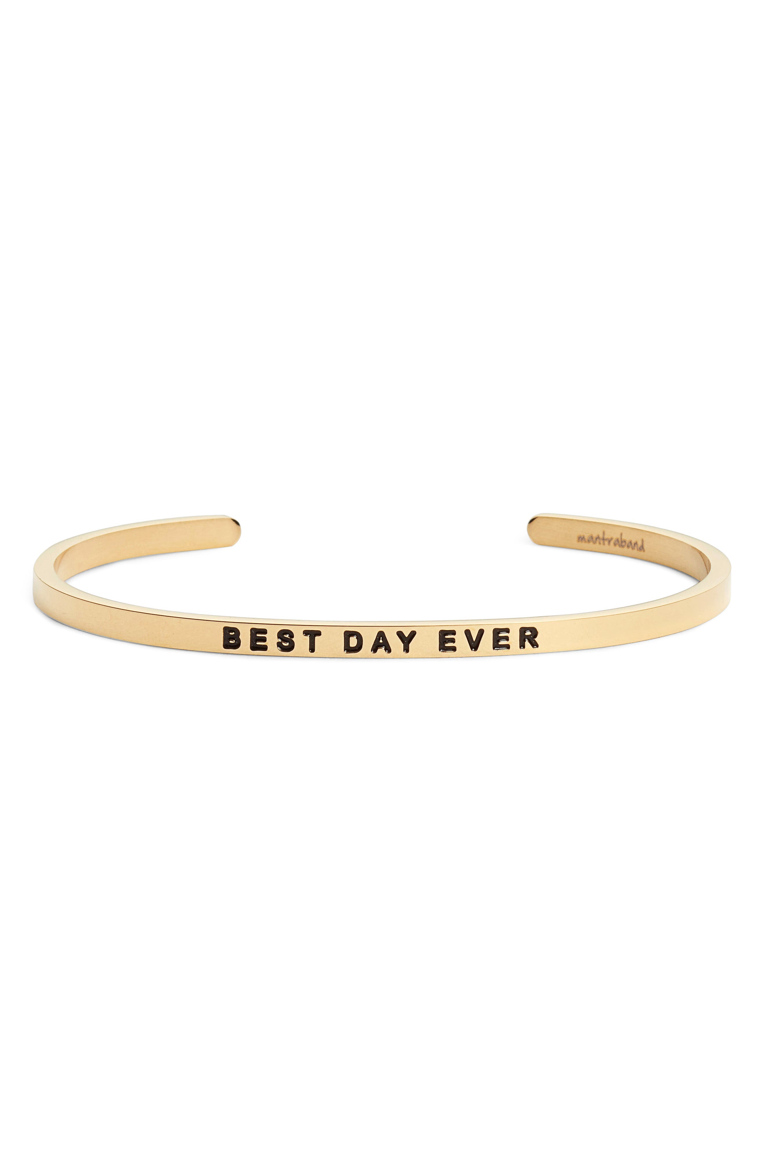 Alternate Image 1 Selected - MantraBand® Best Day Ever Cuff