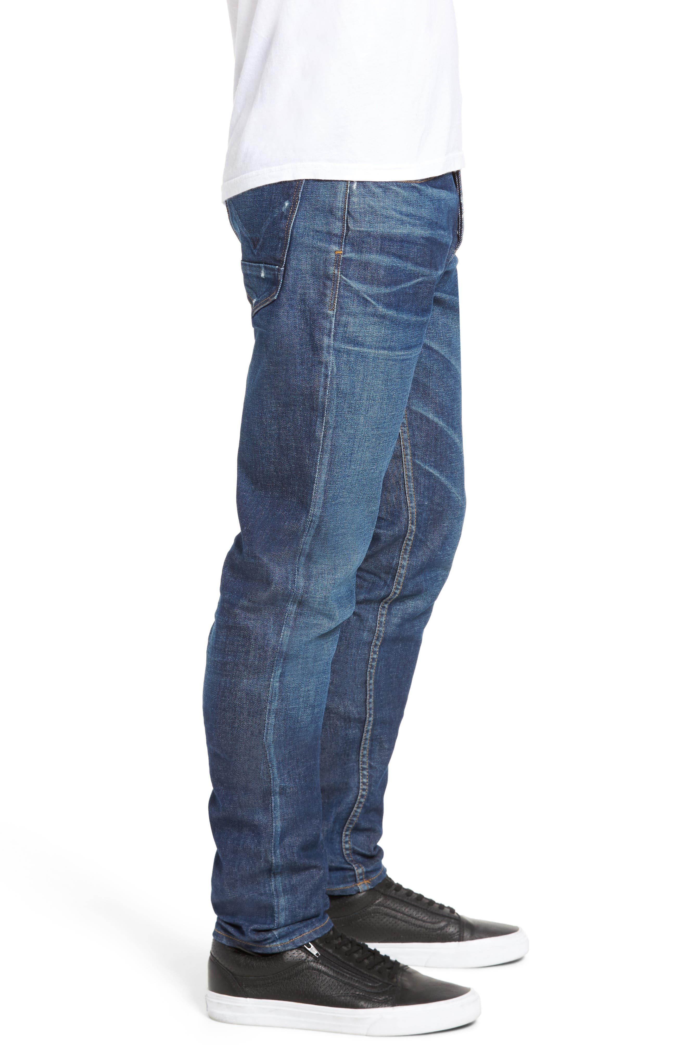 Alternate Image 3  - Hudson Jeans Axl Skinny Fit Jeans (Falling Down)