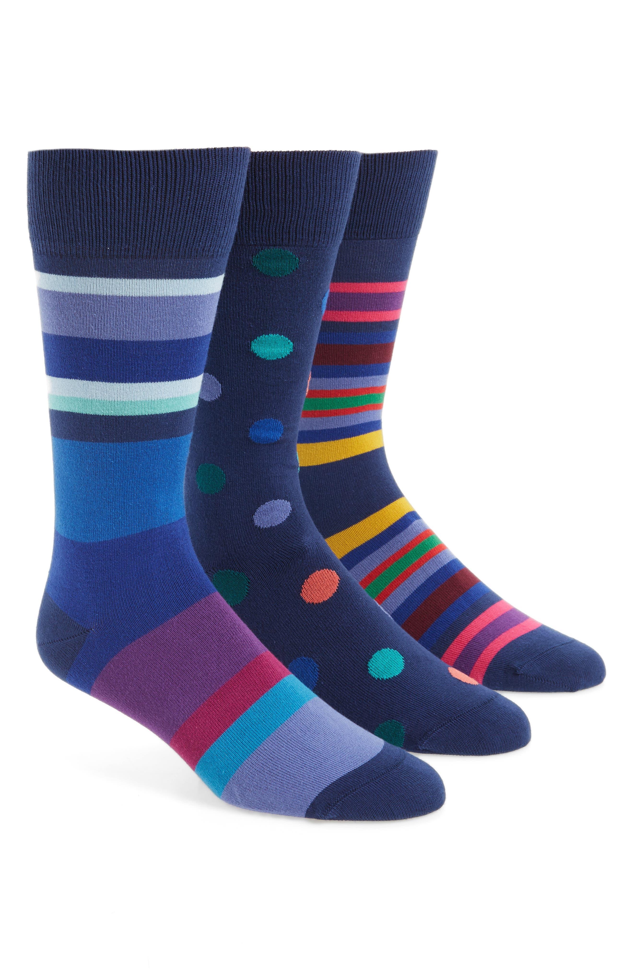 Paul Smith 3-Pack Novelty Socks ($90 Value)