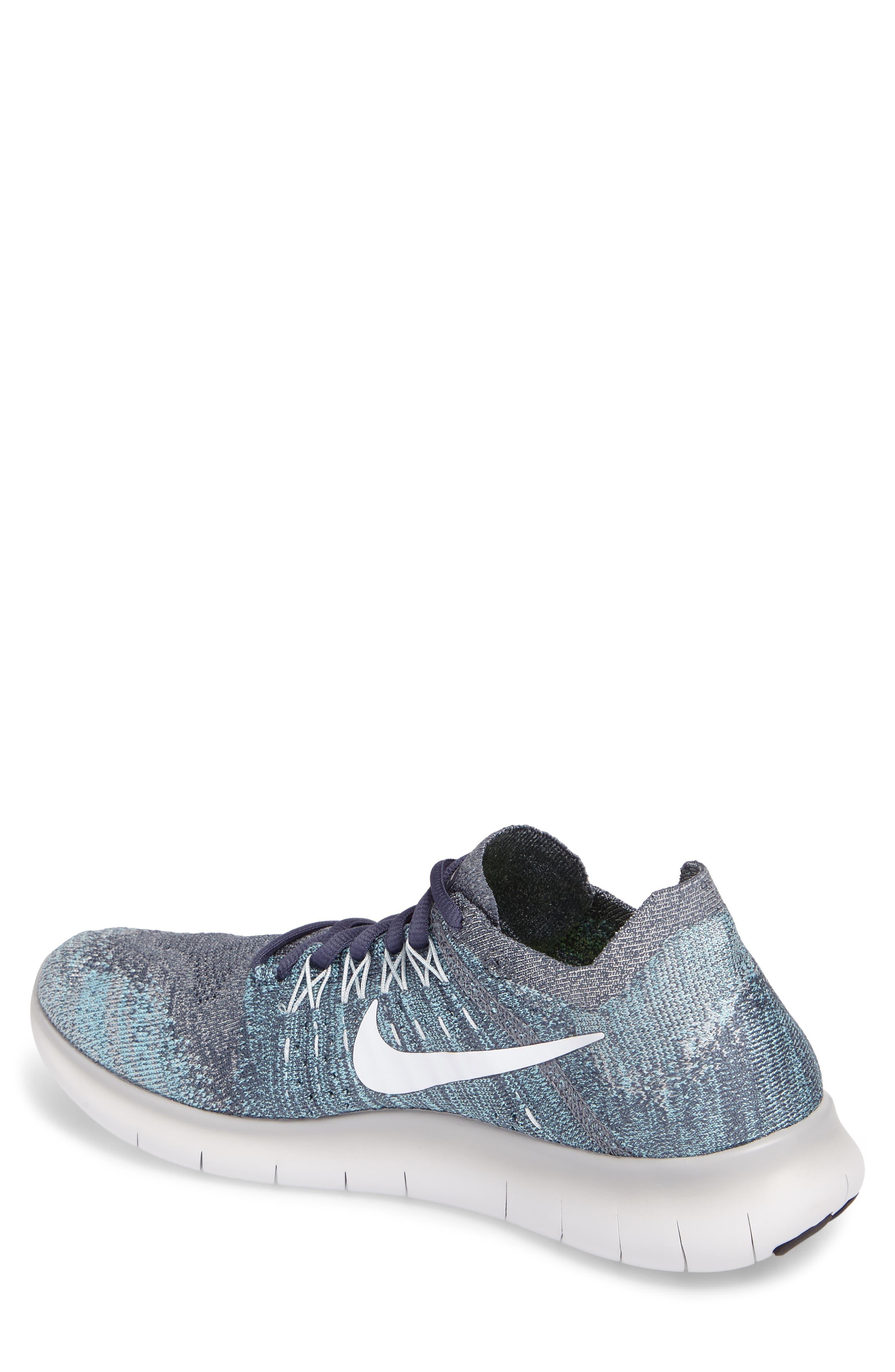 Alternate Image 2  - Nike Free Run Flyknit 2017 Running Shoe (Men)
