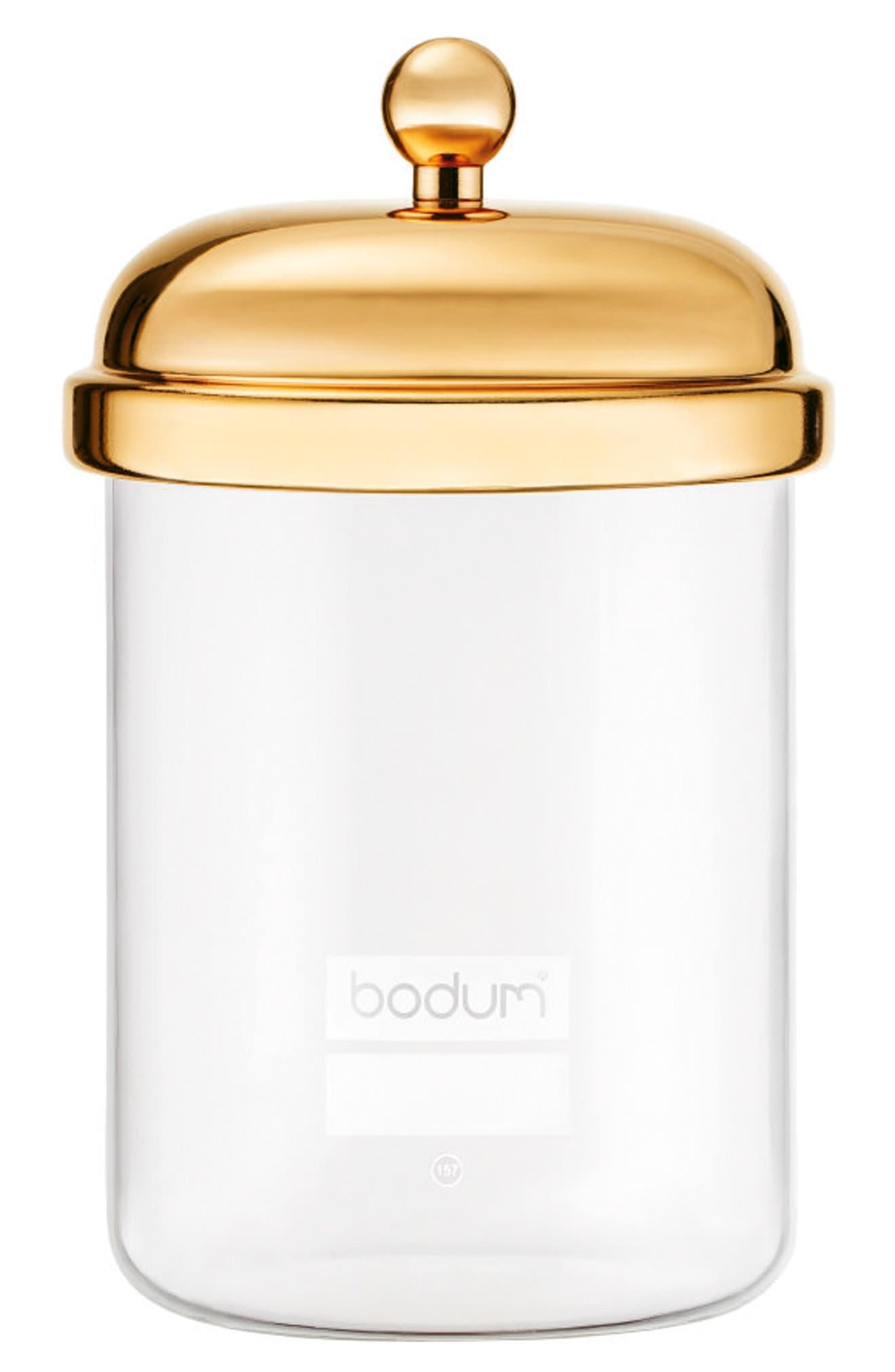 Classic Storage Jar,                         Main,                         color, Gold