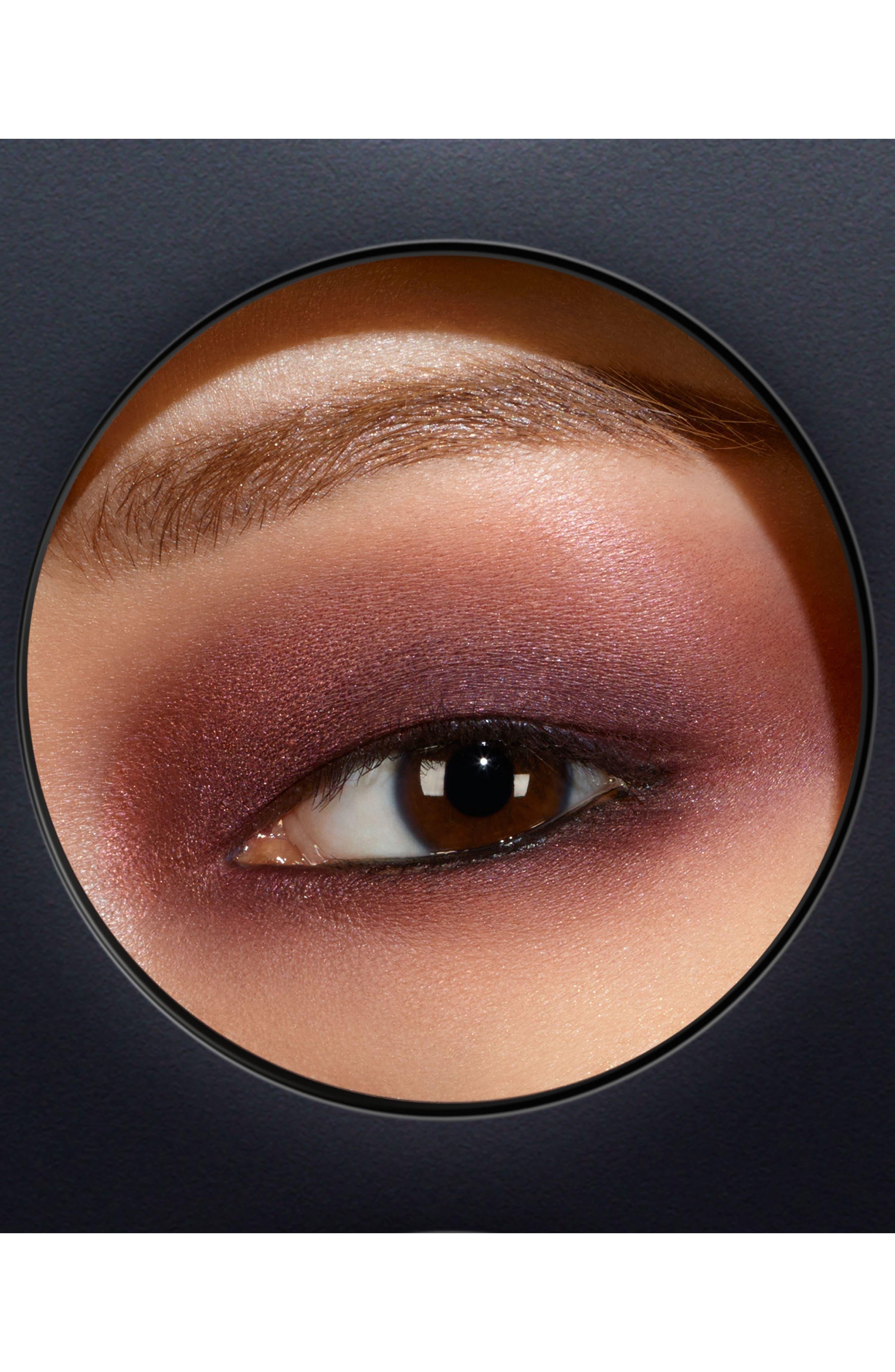 MAC Times Nine Eyeshadow Palette,                             Alternate thumbnail 4, color,                             Burgundy Times Nine