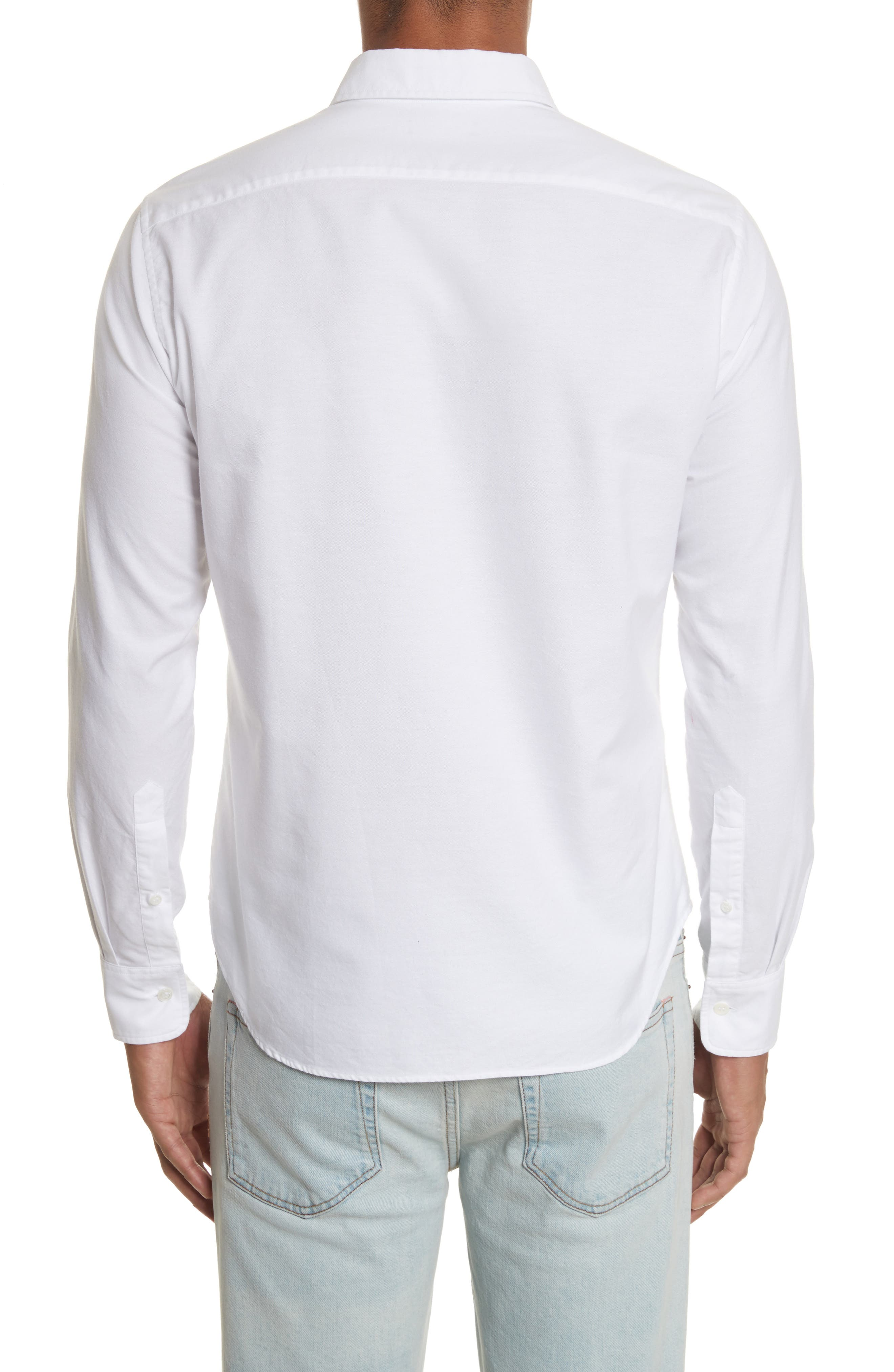 Alternate Image 2  - ACNE Studios Ohio Face Patch Oxford Shirt