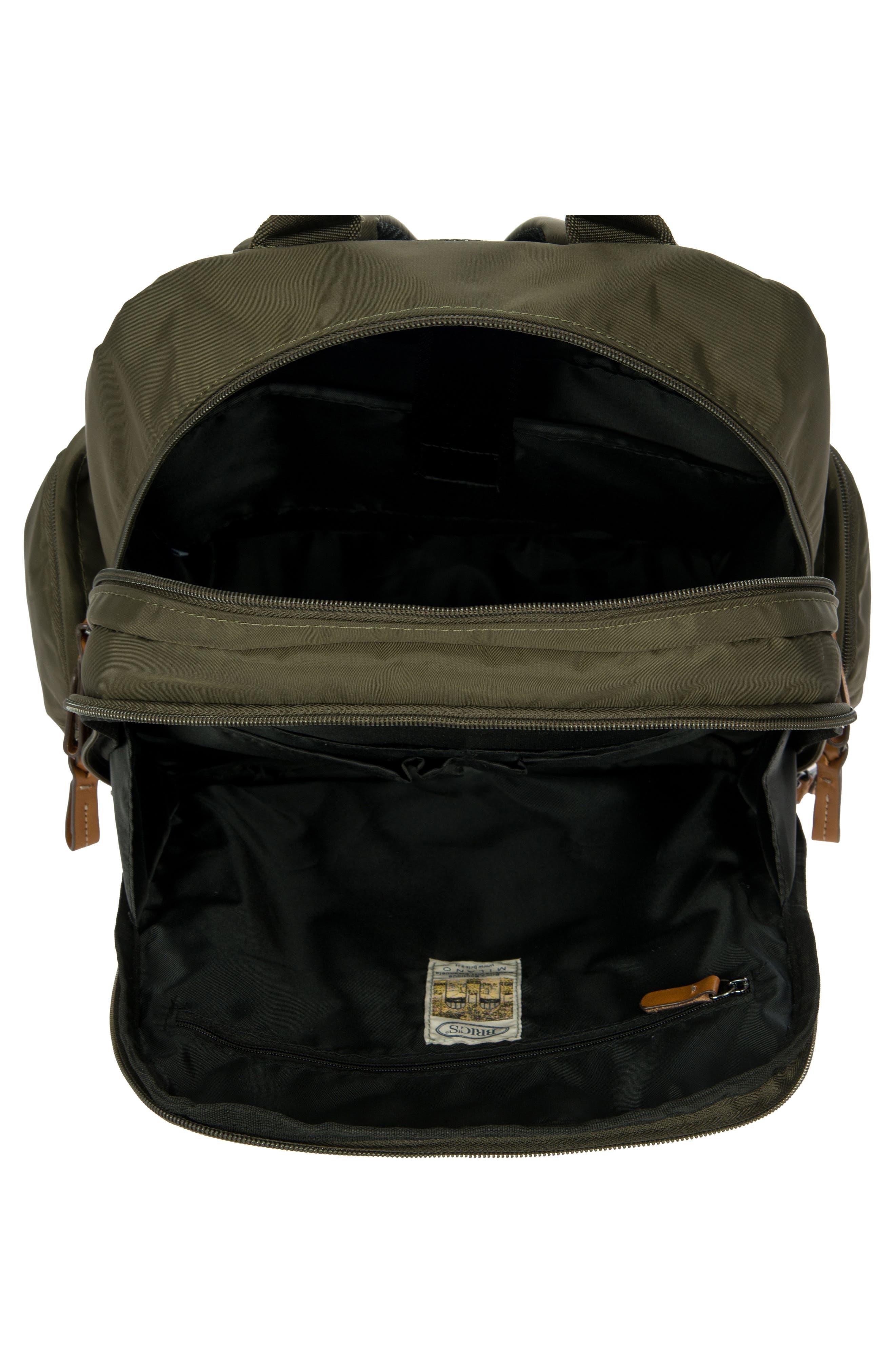 X-Travel Nomad Backpack,                             Alternate thumbnail 3, color,                             Olive