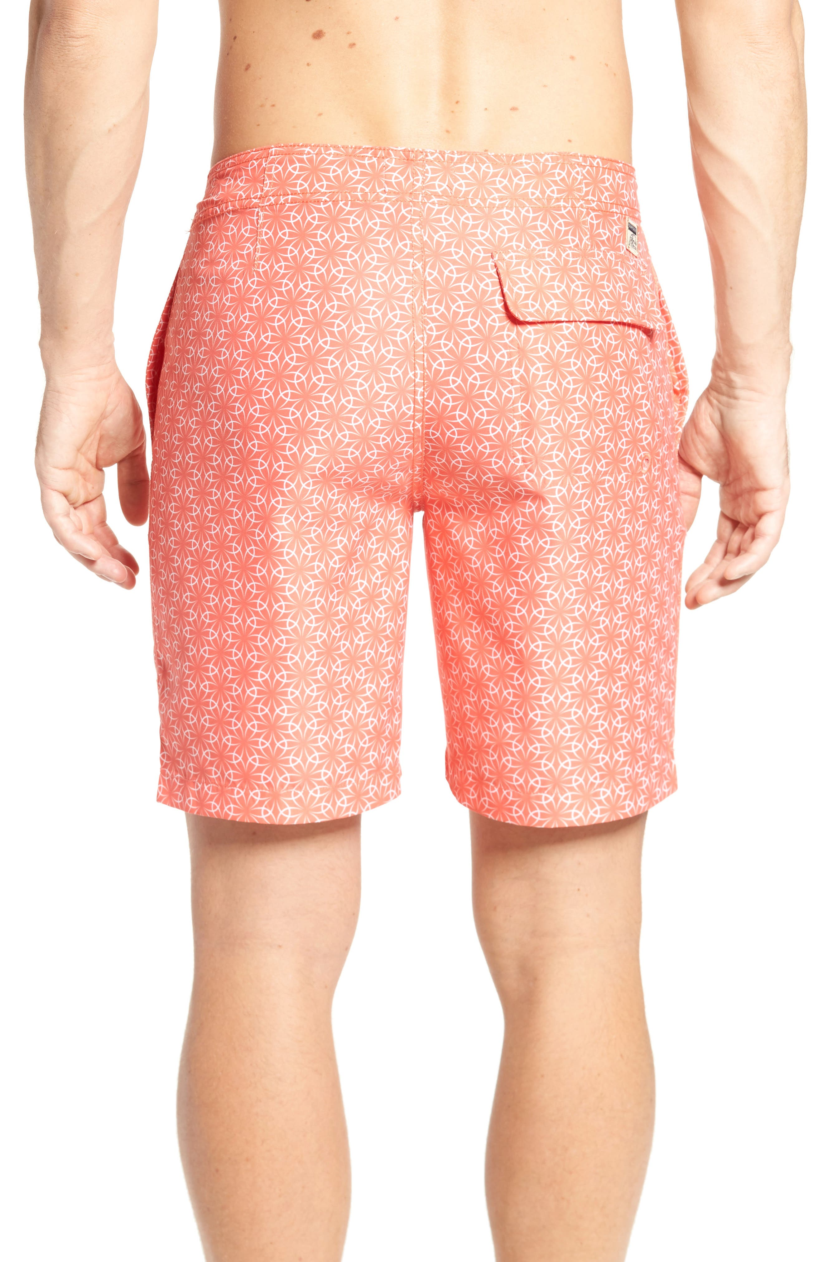 Alternate Image 2  - Surfside Supply Gradient Flower Board Shorts