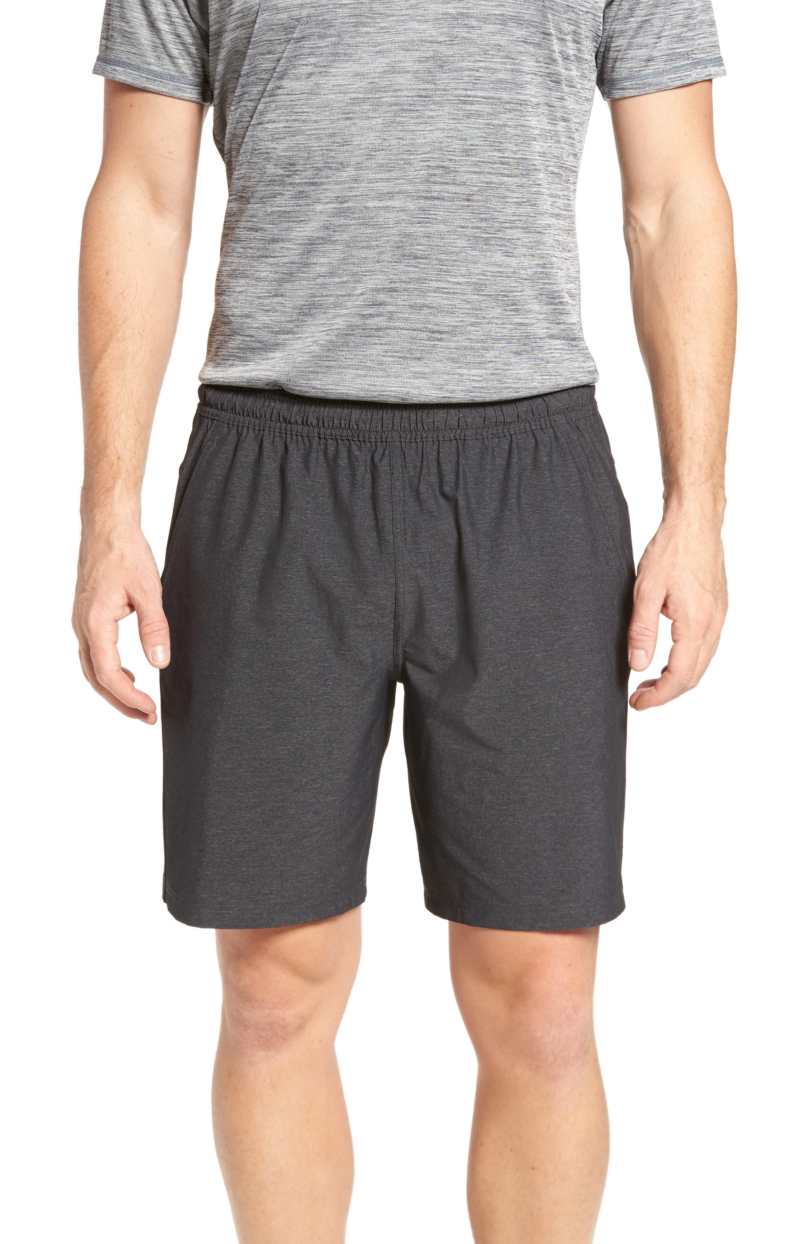 Alternate Image 1 Selected - Zella Graphite Shorts