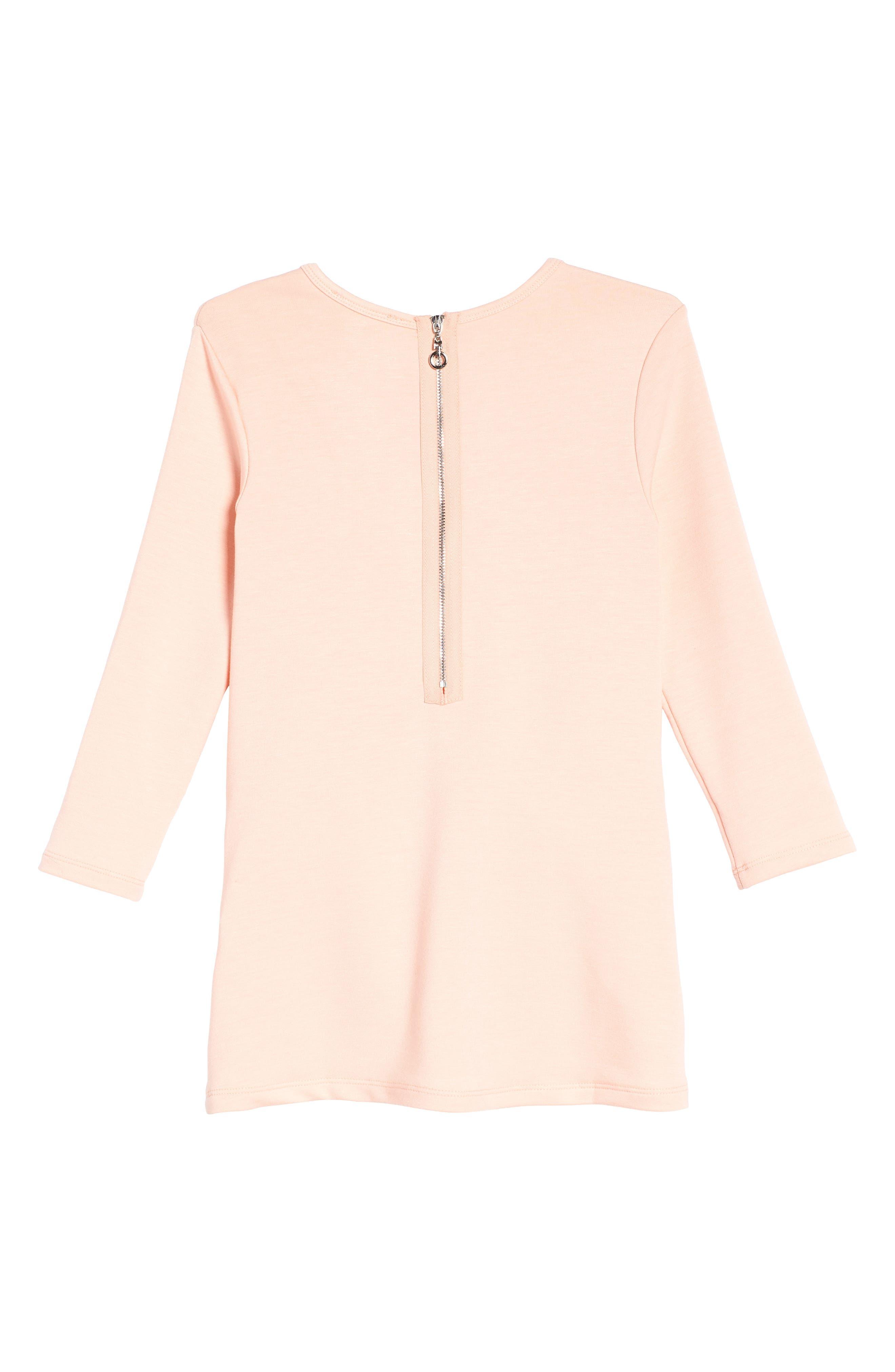 Celestial Knit Dress,                             Alternate thumbnail 2, color,                             Light Pink