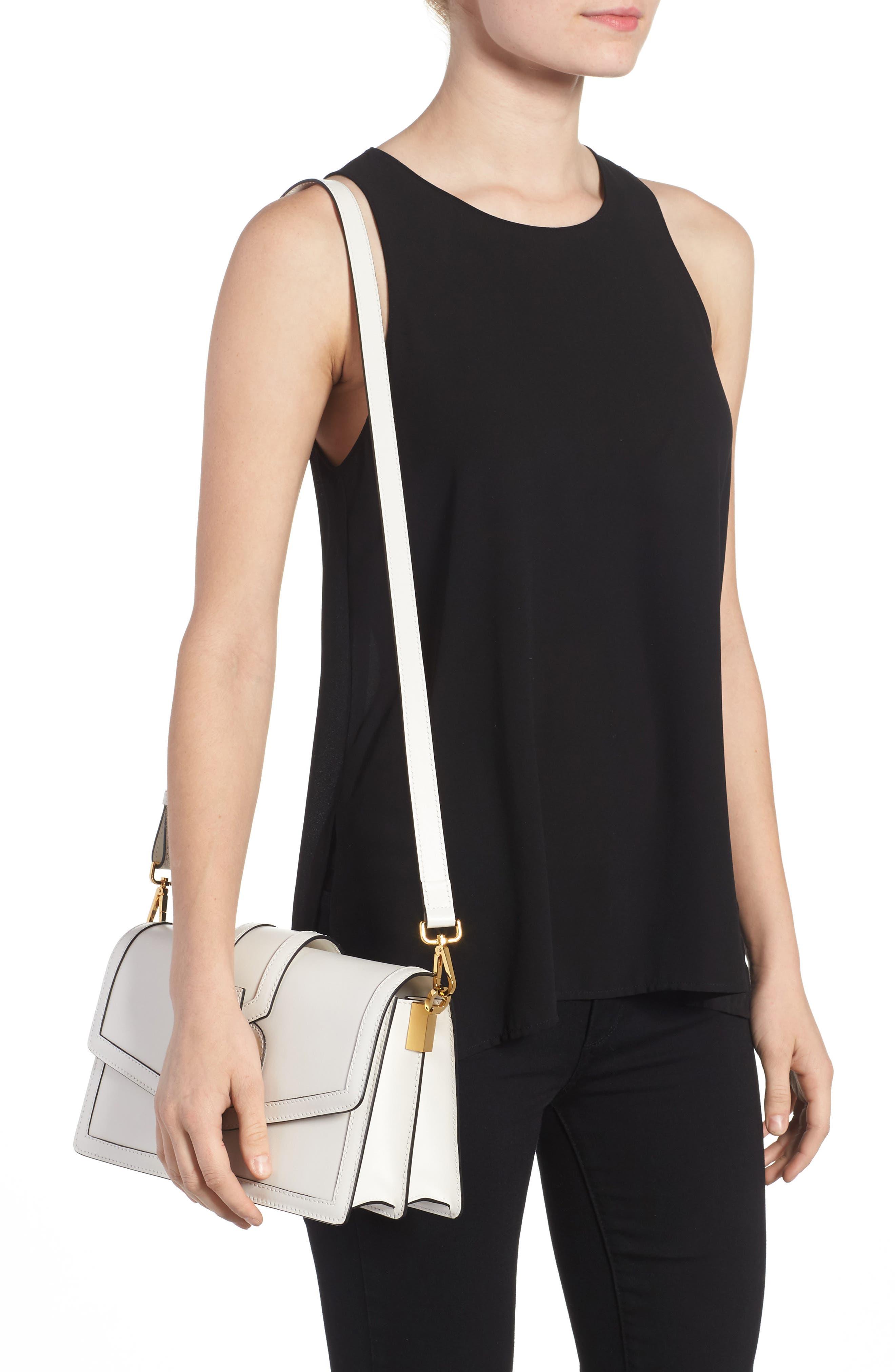 Alternate Image 2  - Serapian Milano Medium 1972 Leather Shoulder Bag