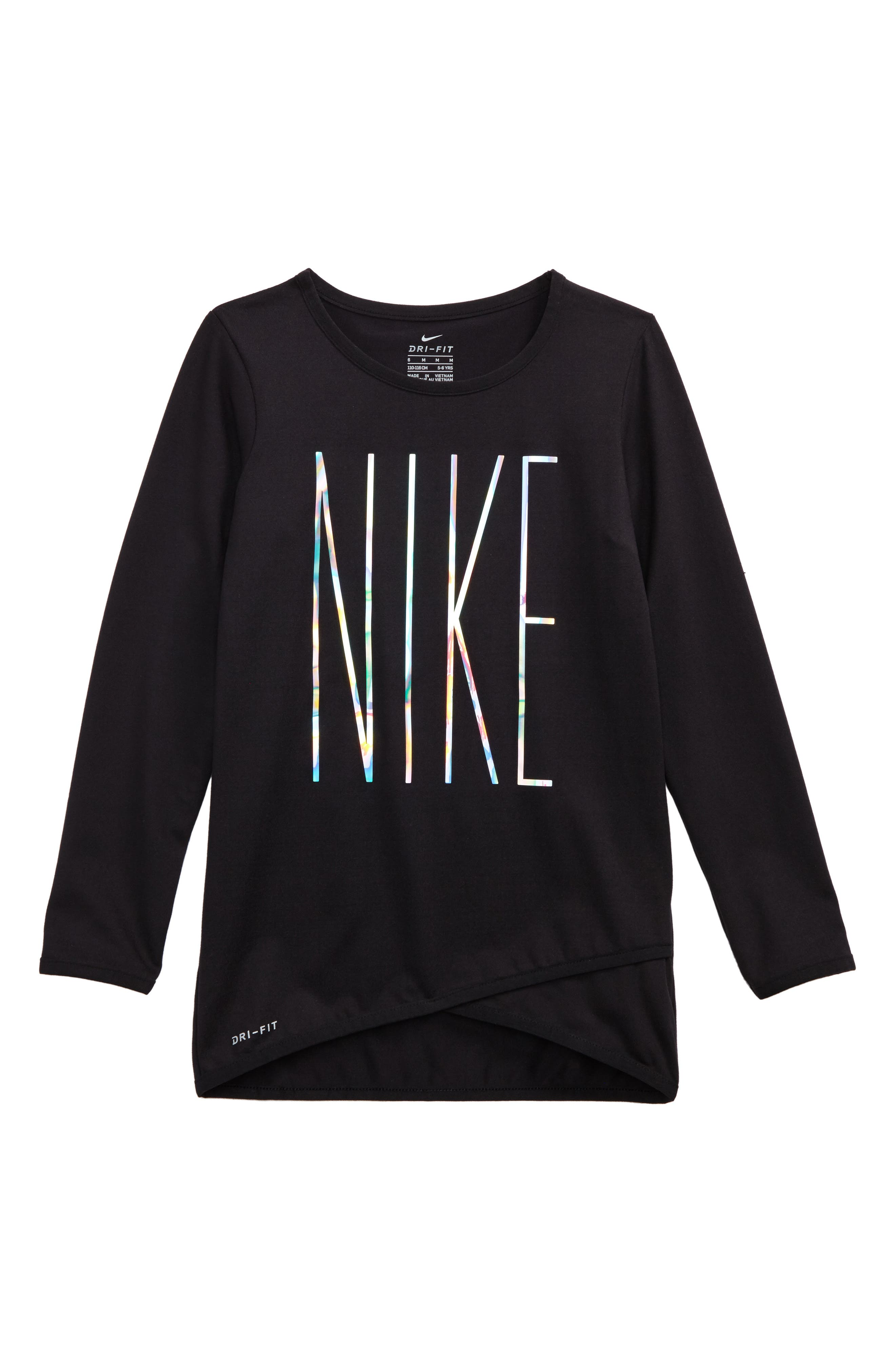Alternate Image 1 Selected - Nike Sport Essentials Dri-FIT Tunic (Toddler Girls & Little Girls)