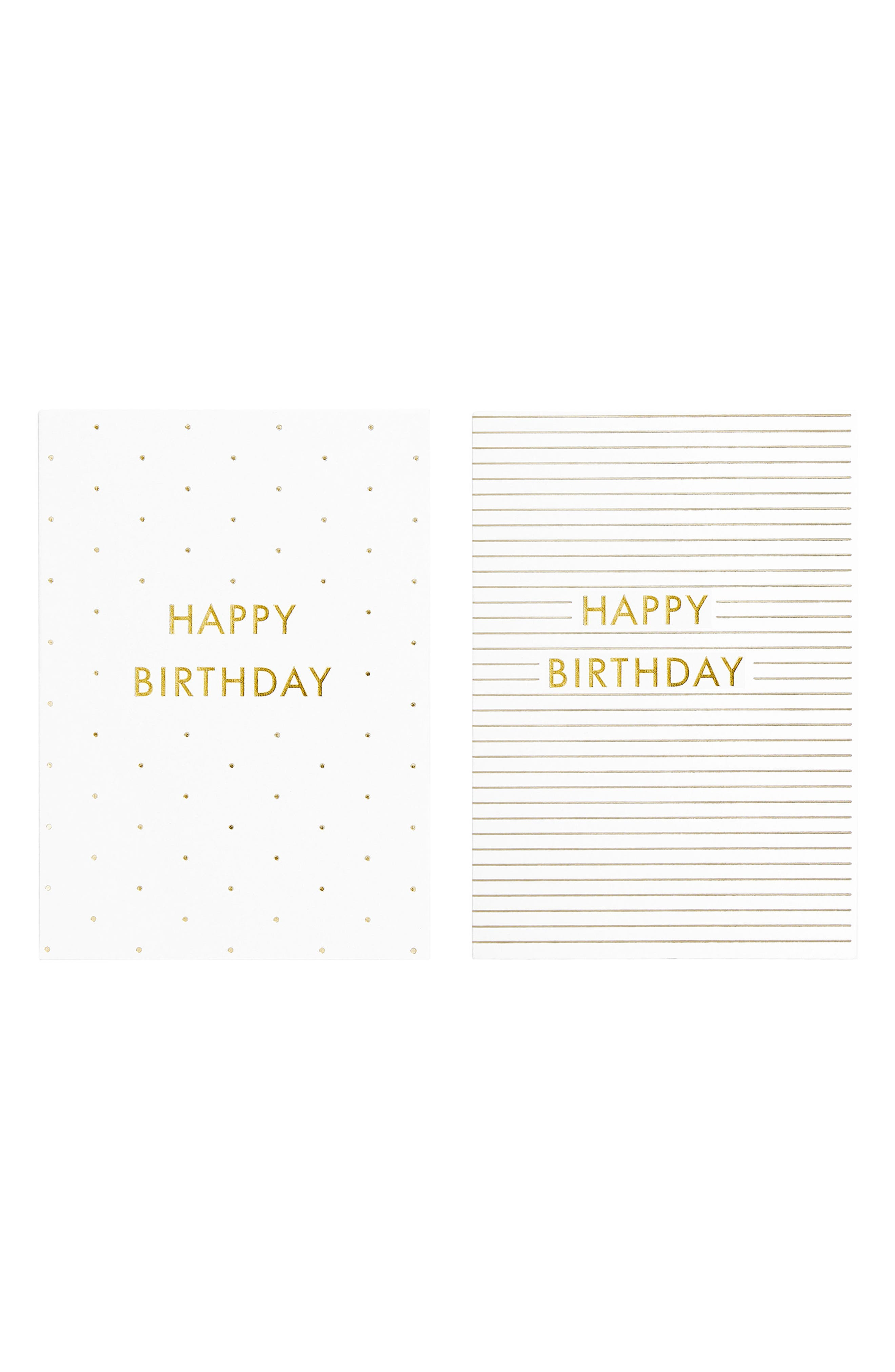 Time is Now 10-Pack Birthday Cards,                             Alternate thumbnail 2, color,                             Multi
