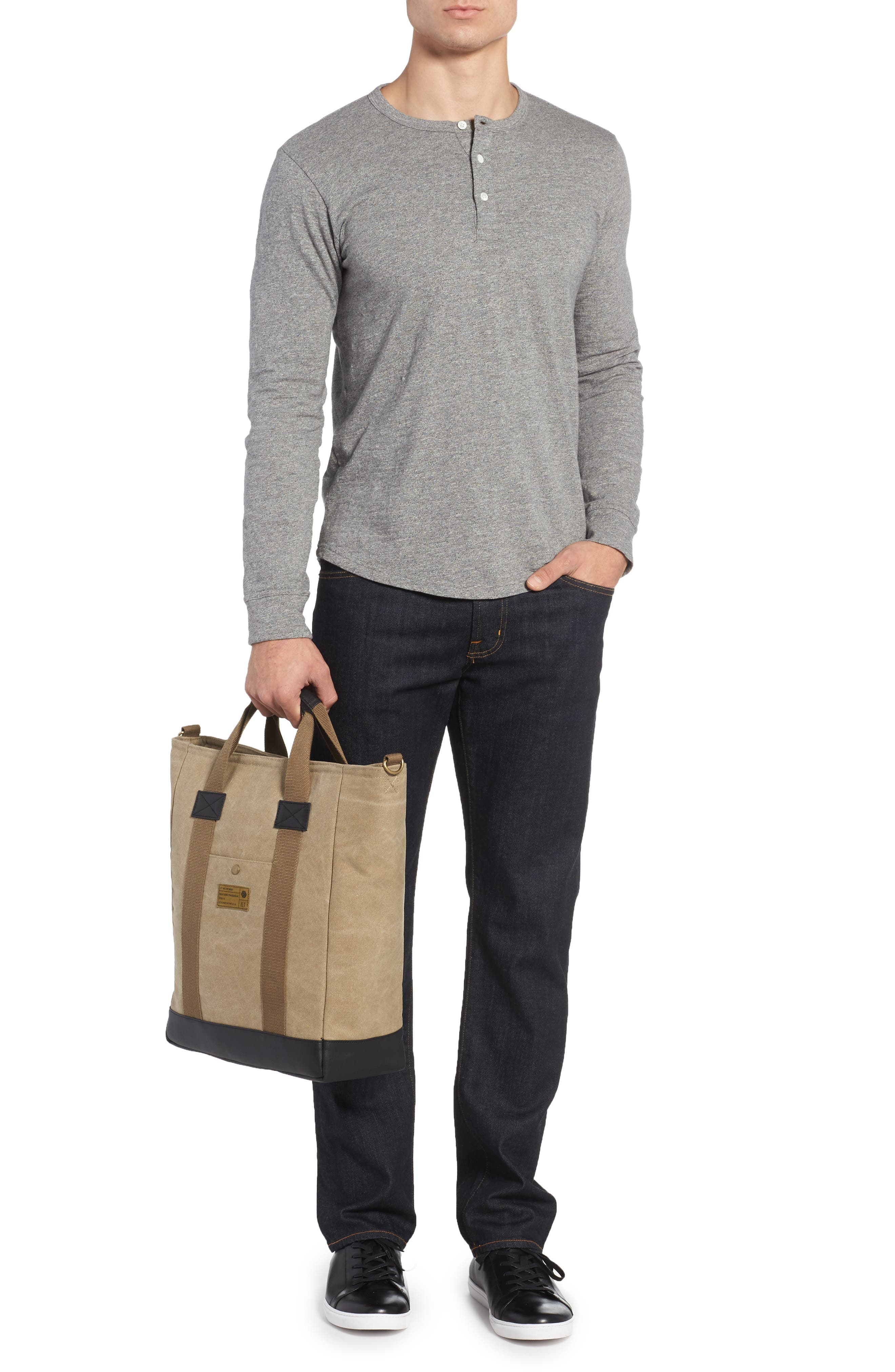 Alternate Image 2  - HEX Canvas Tote Bag