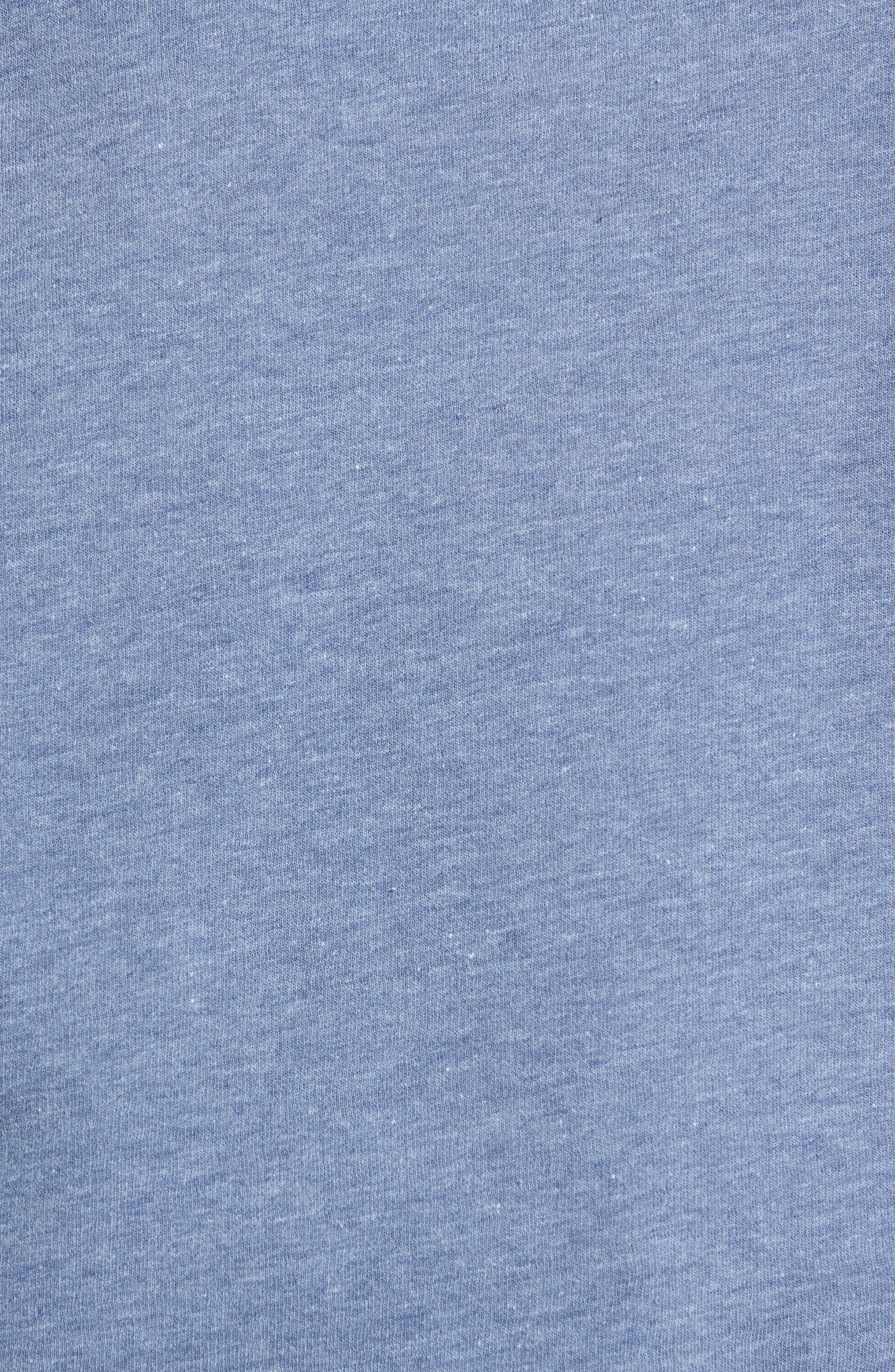 Crewneck Sweatshirt,                             Alternate thumbnail 5, color,                             Blue Insignia Treasure