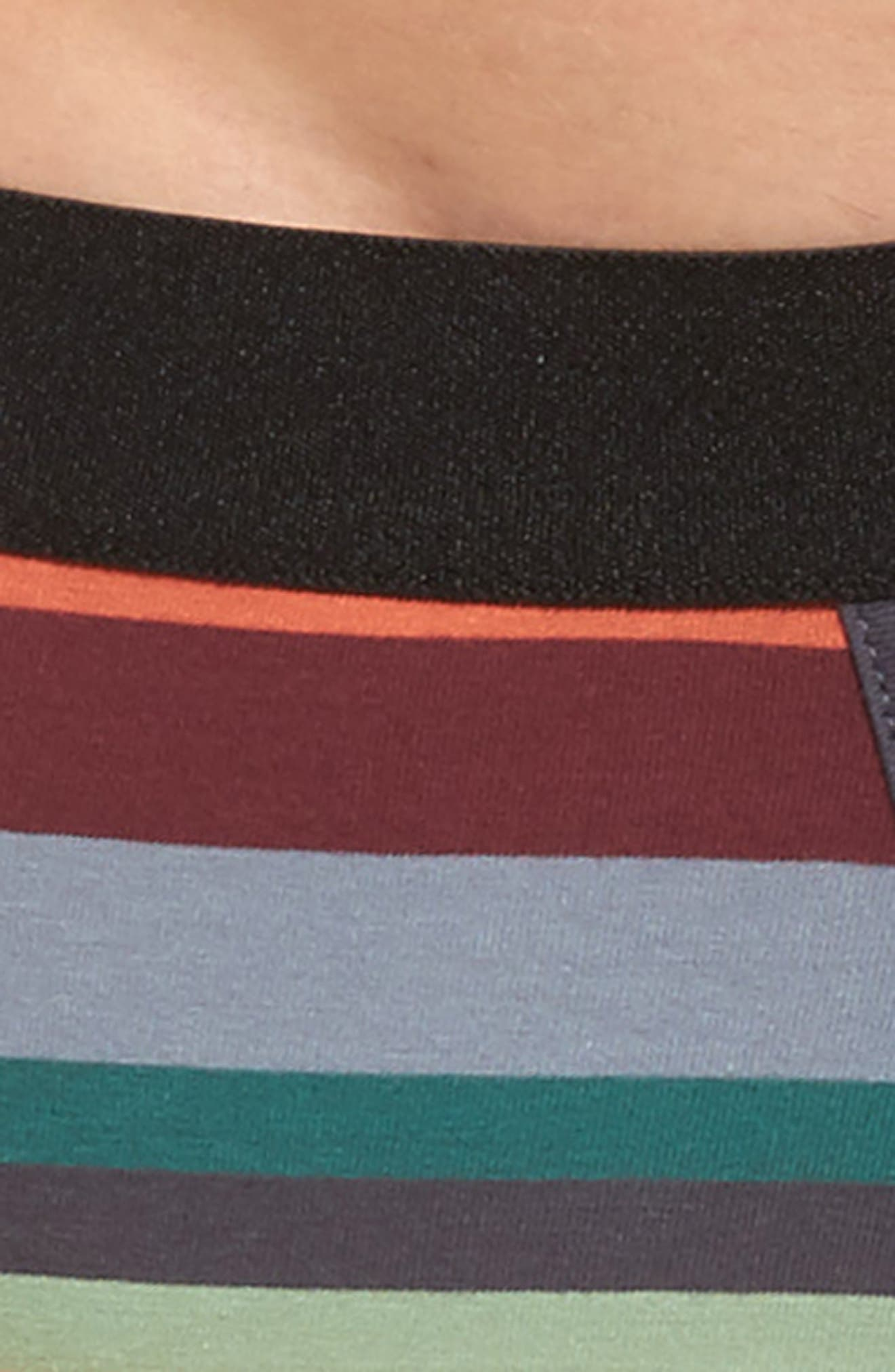 Alternate Image 4  - Paul Smith Artist Stripe Stretch Cotton Trunks
