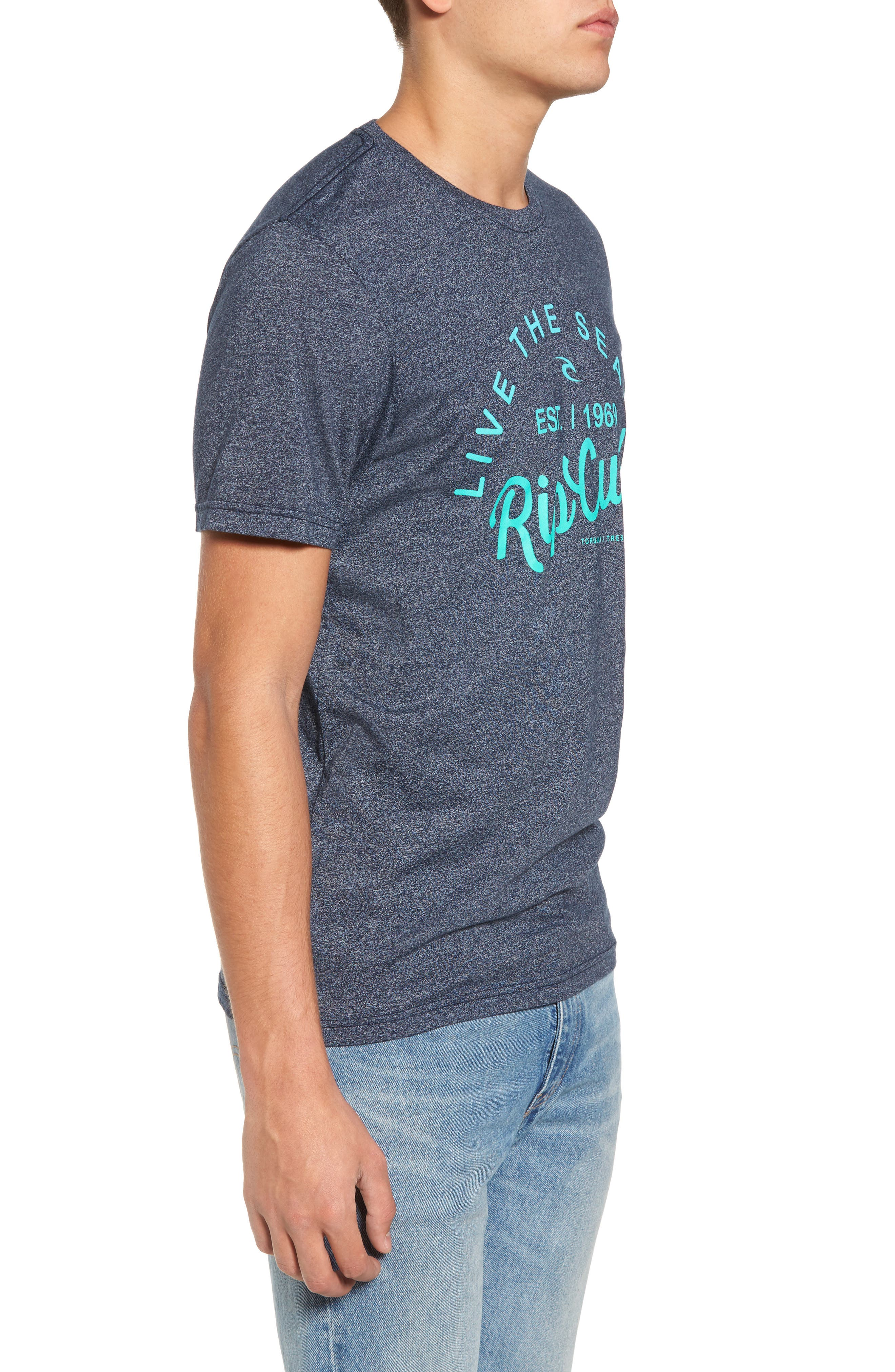 Alternate Image 3  - Rip Curl Shred City Short Sleeve T-Shirt