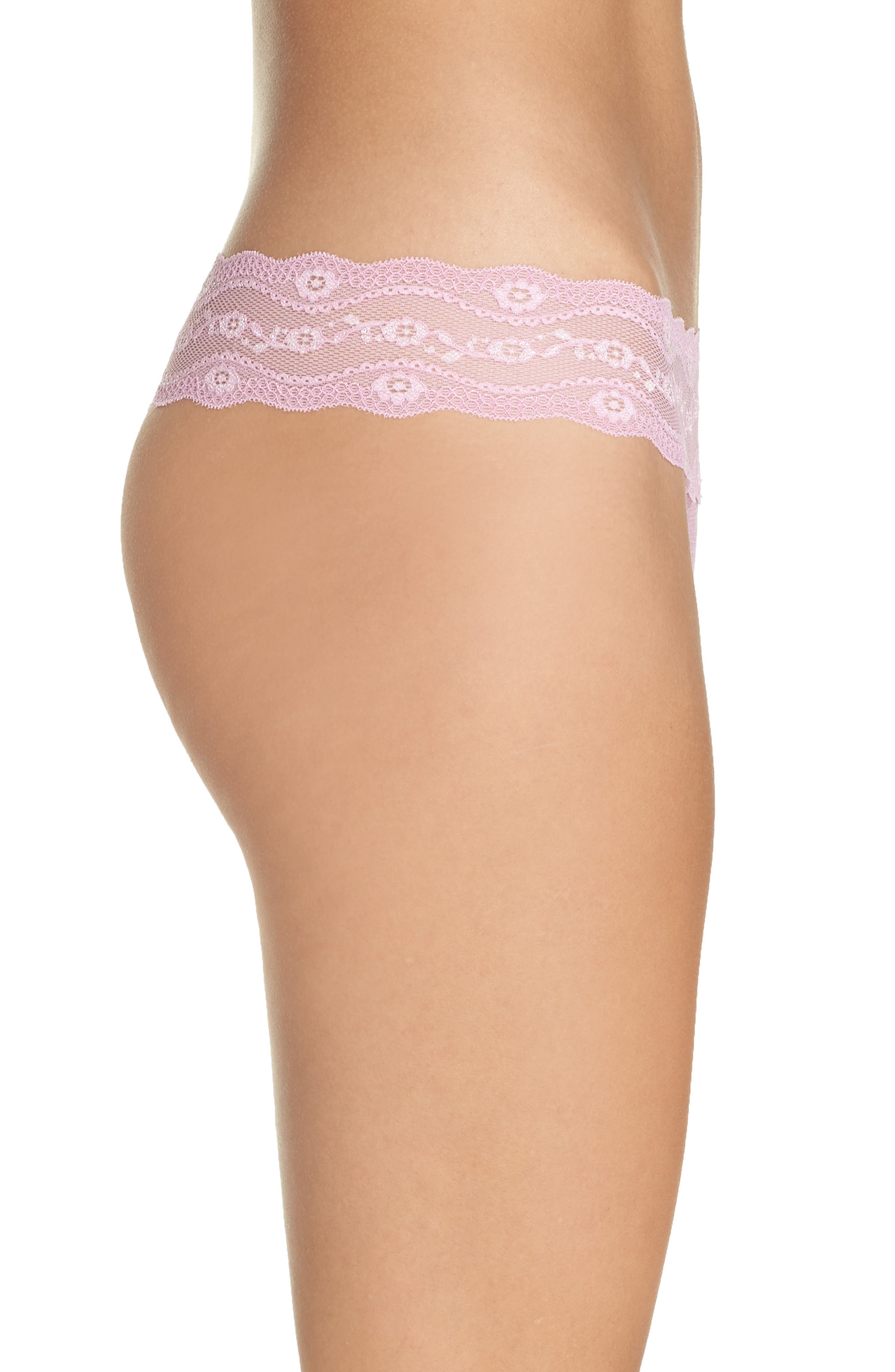 Alternate Image 3  - b.tempt'd by Wacoal 'Lace Kiss' Thong (3 for $33)