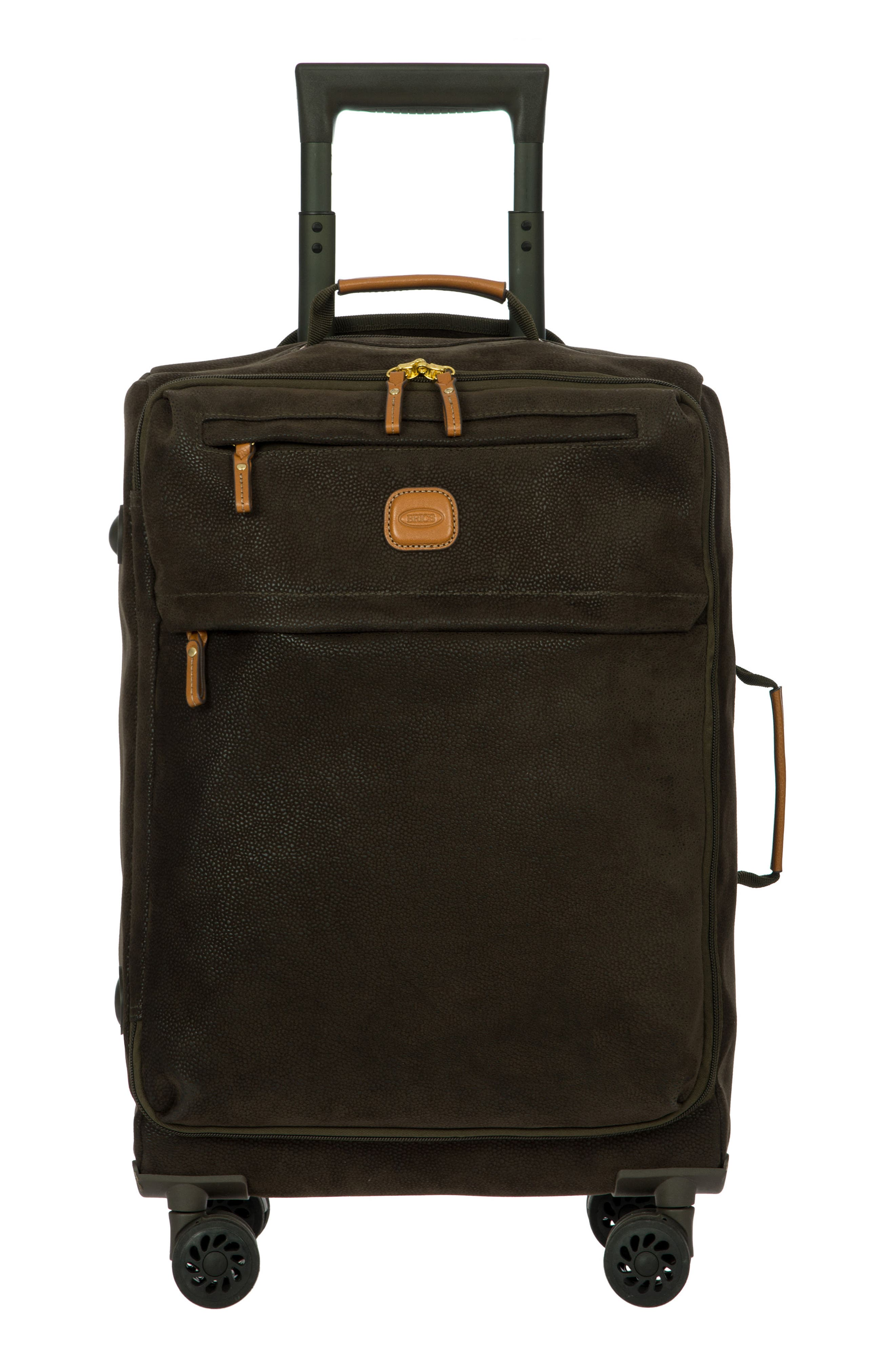 Life Collection Tropea 21-Inch Spinner Carry-On,                             Alternate thumbnail 8, color,                             Olive