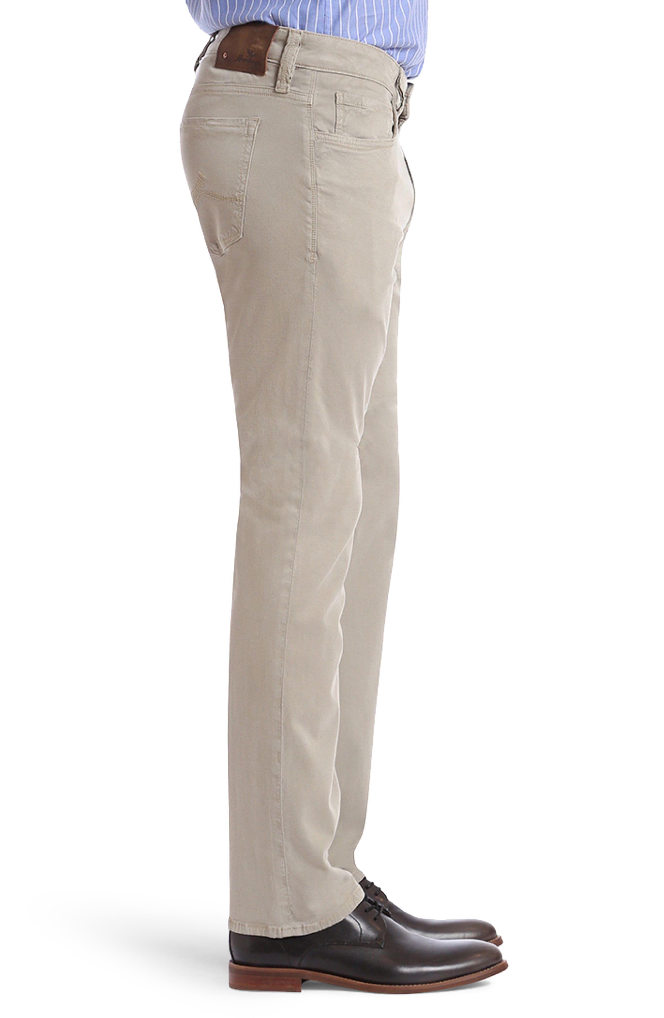Courage Straight Fit Twill Pants,                             Alternate thumbnail 3, color,                             Khaki Fine Twill