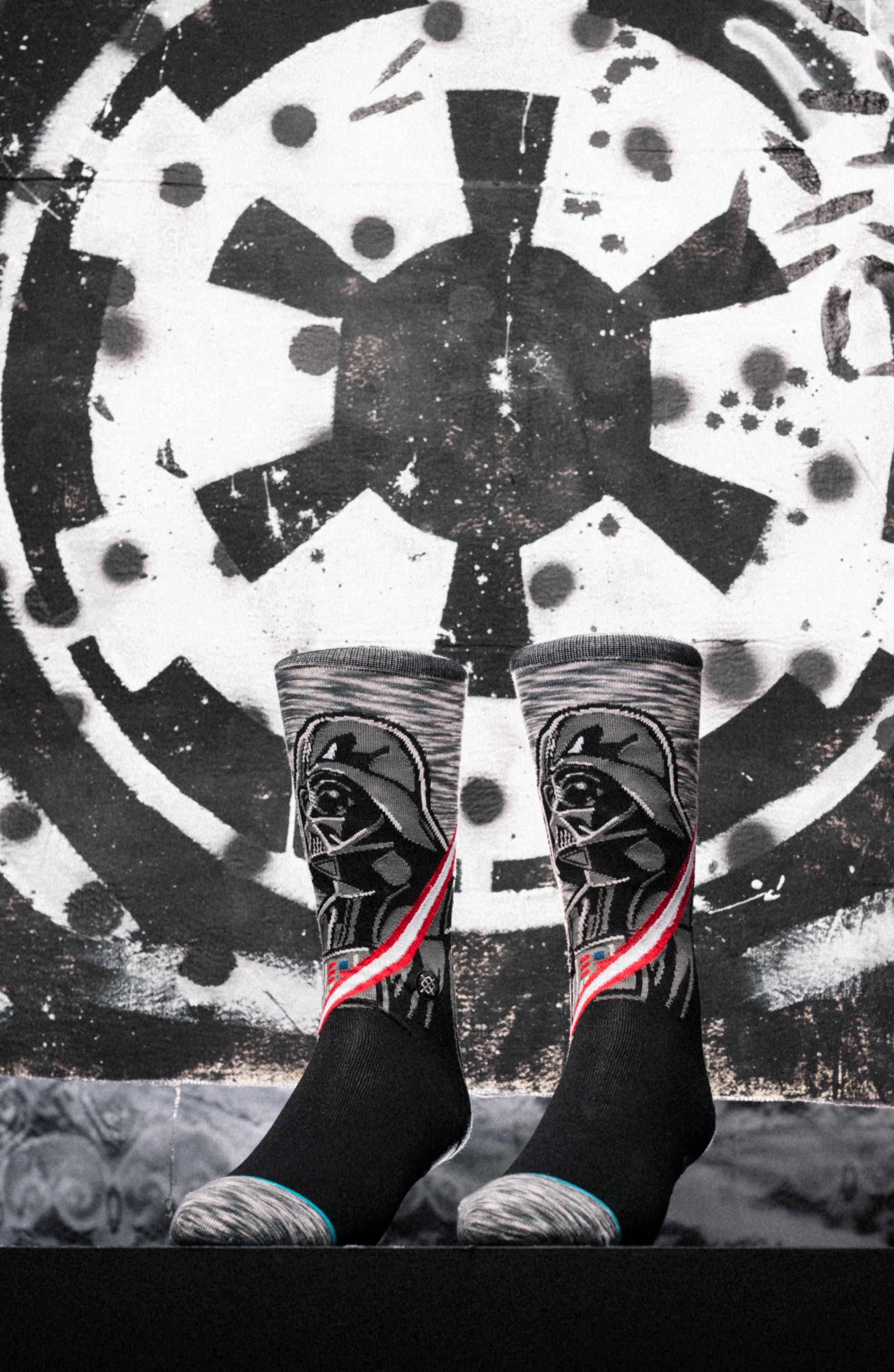 Star Wars<sup>™</sup> 6-Pack Sock Gift Set,                             Alternate thumbnail 4, color,                             Grey Multi