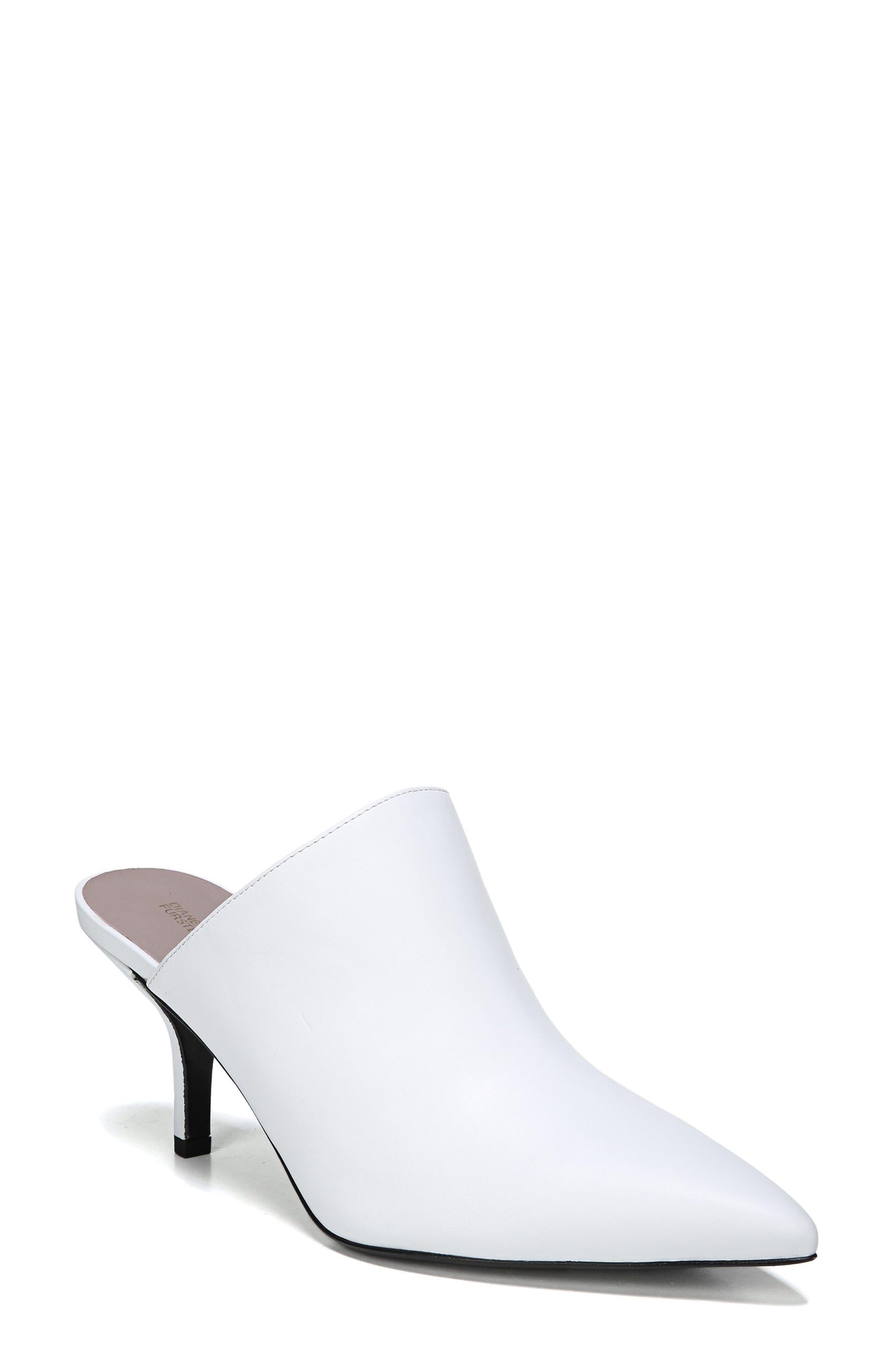 Alternate Image 1 Selected - Diane von Furstenberg Mikaila Pointy Toe Mule (Women)