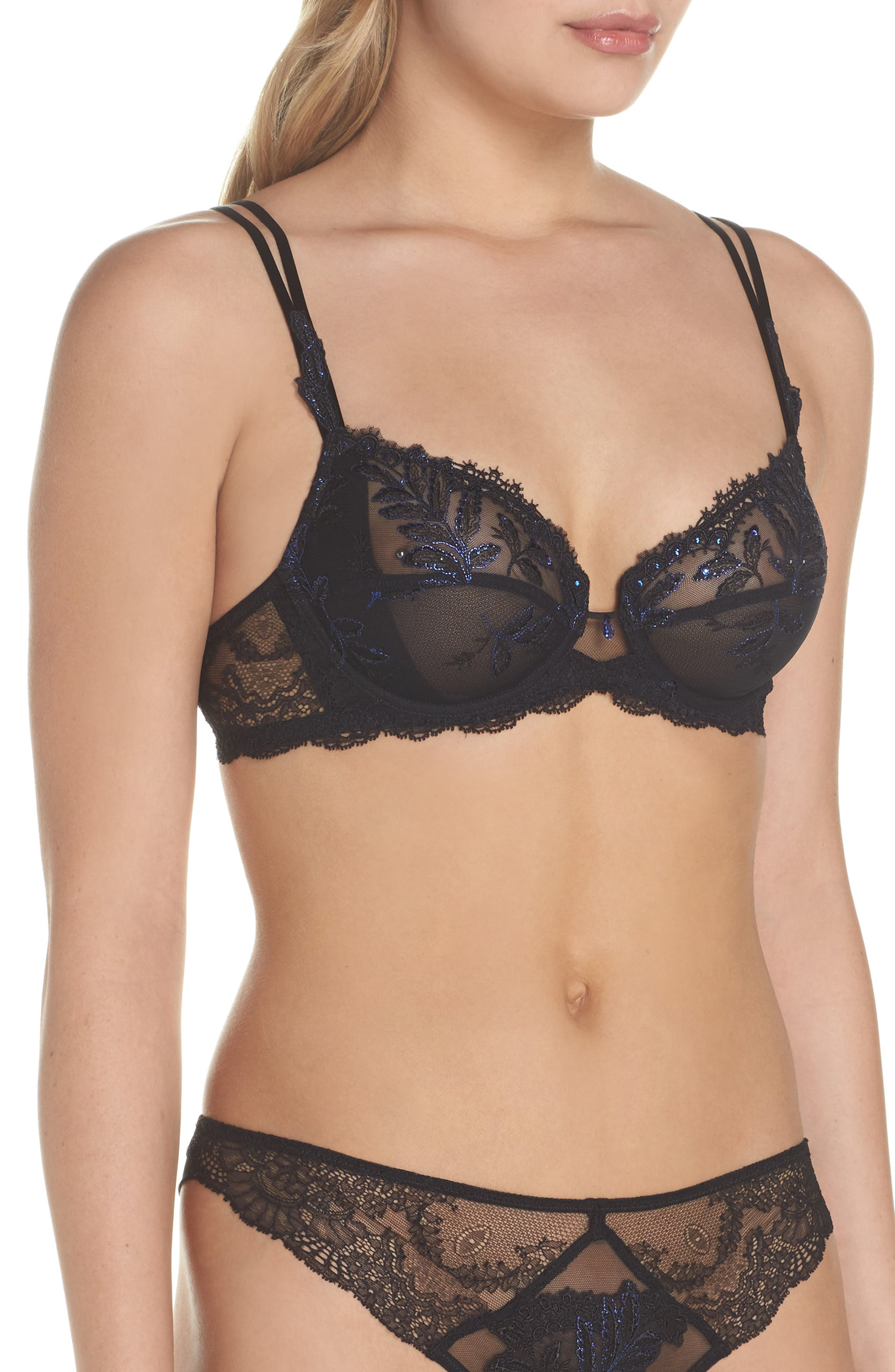 Alternate Image 3  - Epure by Lise Charmel Caresse Fougere Underwire Bra