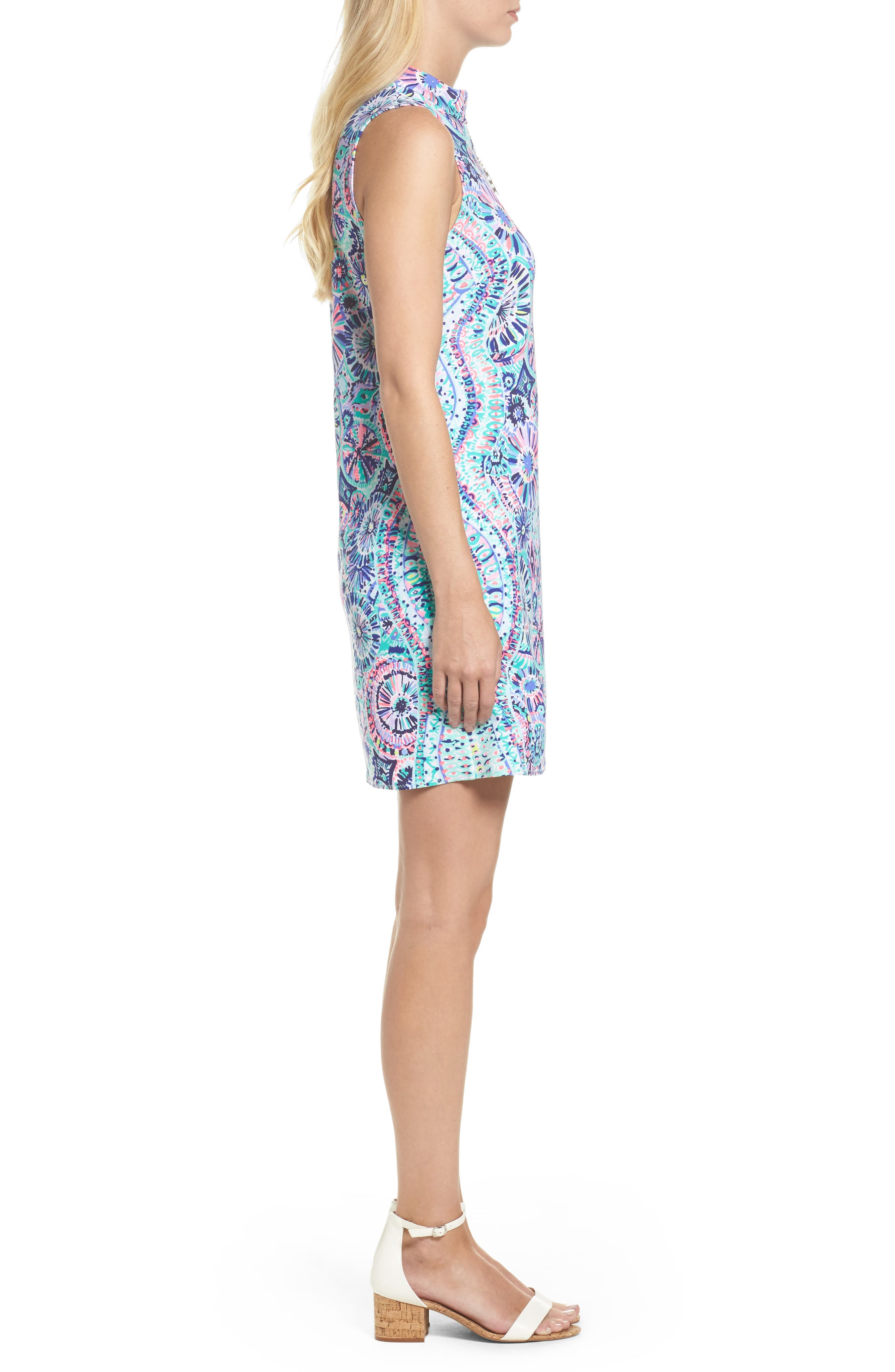 Opal Sheath Dress,                             Alternate thumbnail 3, color,                             Multi The Swim