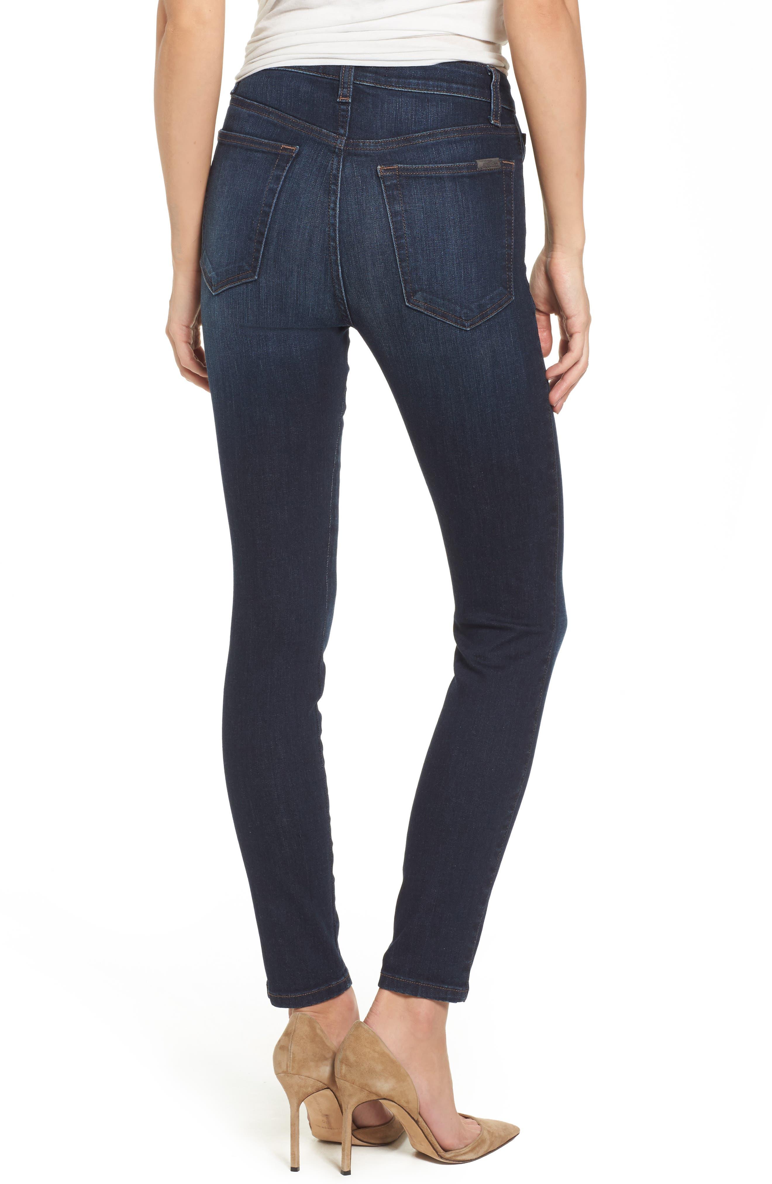 Charlie High Waist Skinny Jeans,                             Alternate thumbnail 2, color,                             Narissa