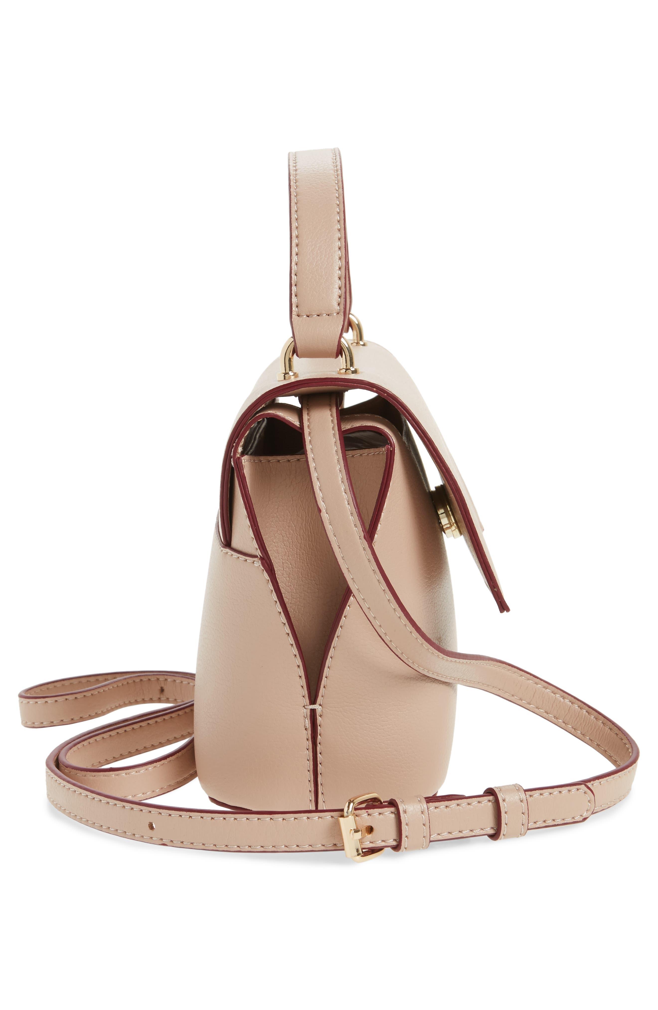 Mini Chino Crossbody Bag,                             Alternate thumbnail 5, color,                             Blush