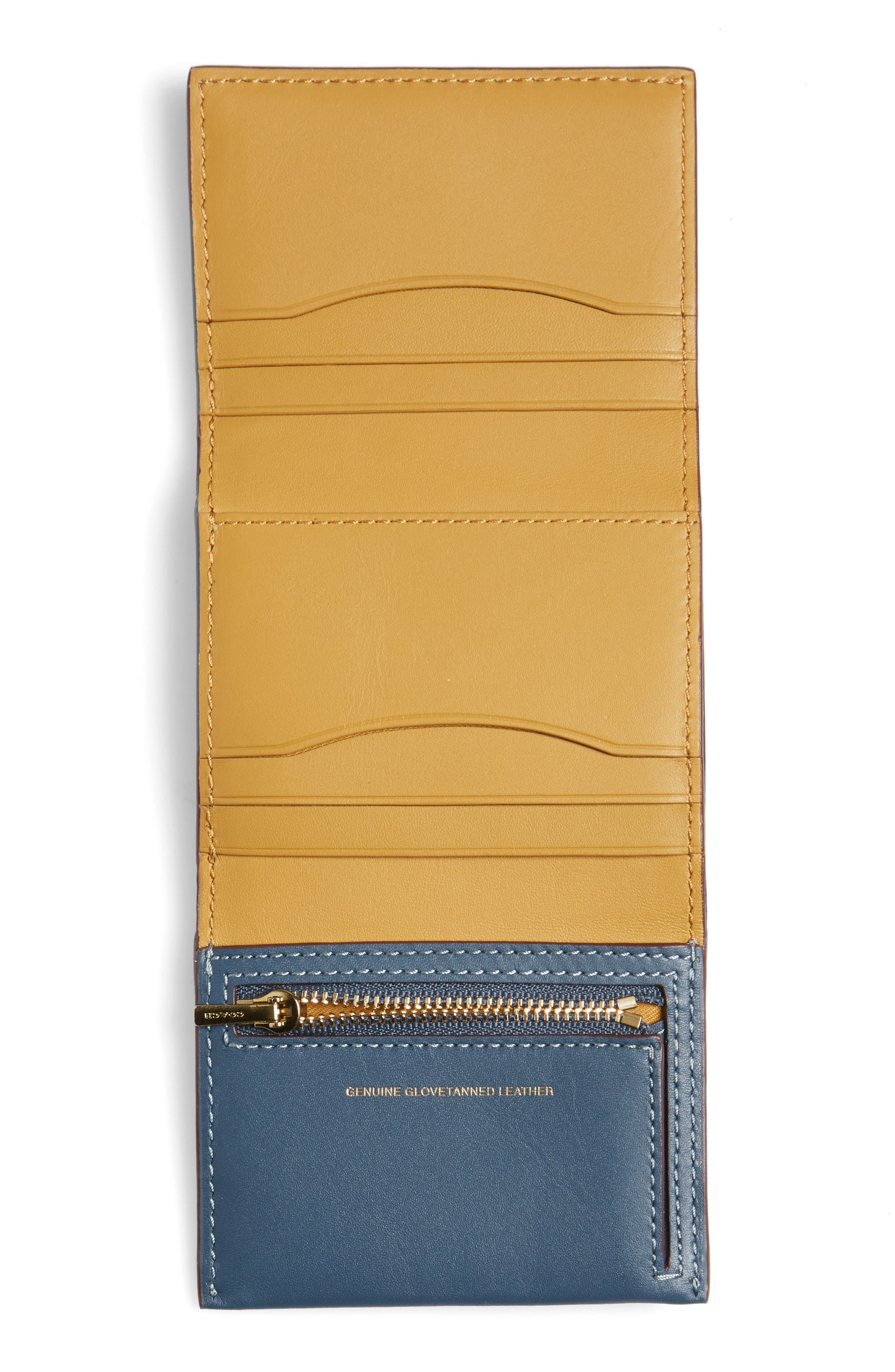 Alternate Image 3  - COACH 1941 Small Leather Trifold Wallet